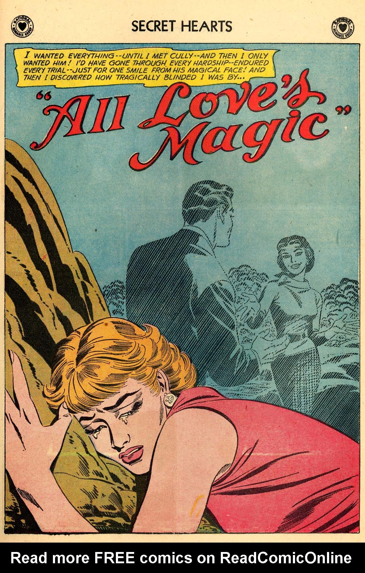 Read online Secret Hearts comic -  Issue #59 - 27