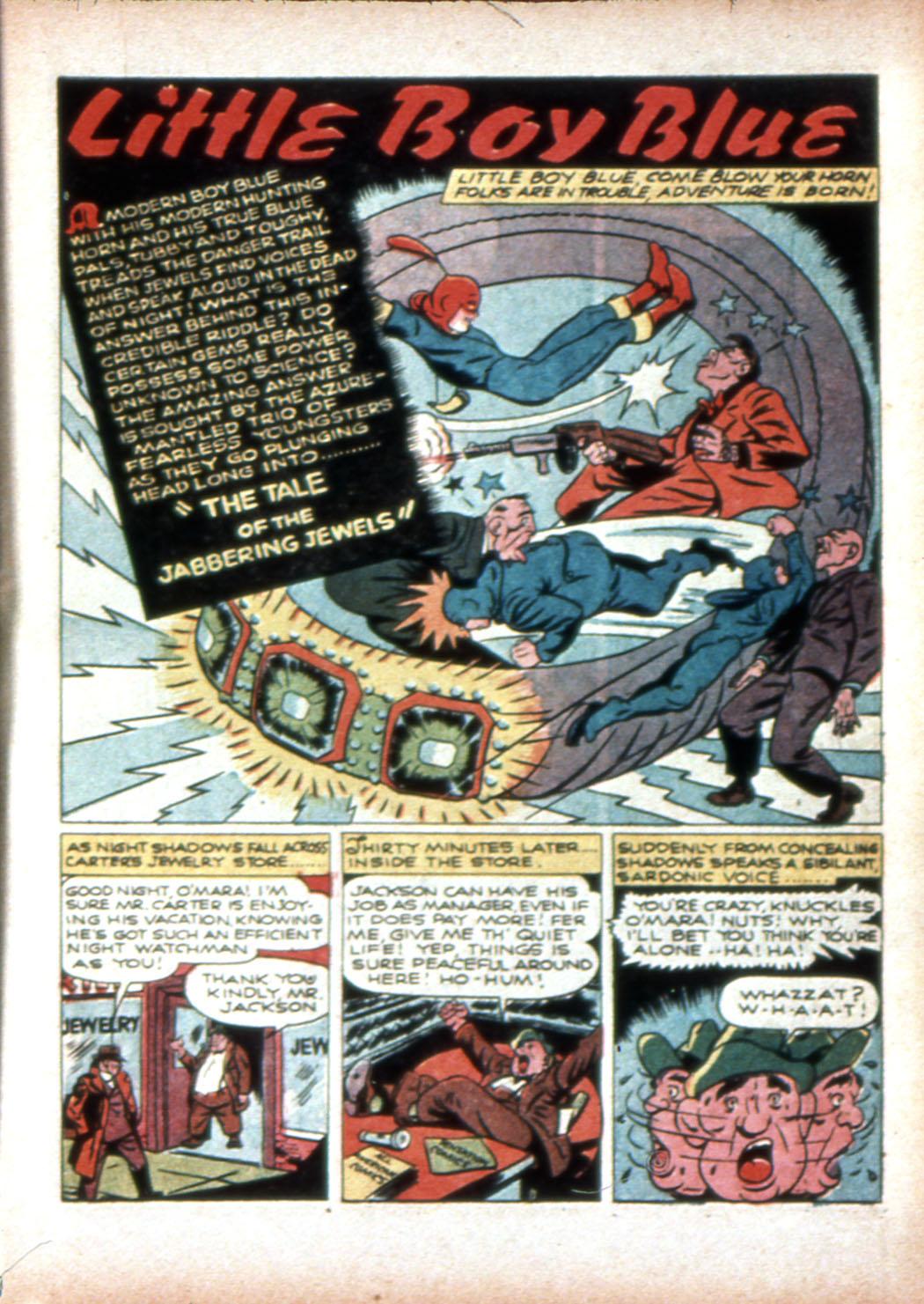 Read online Sensation (Mystery) Comics comic -  Issue #19 - 17