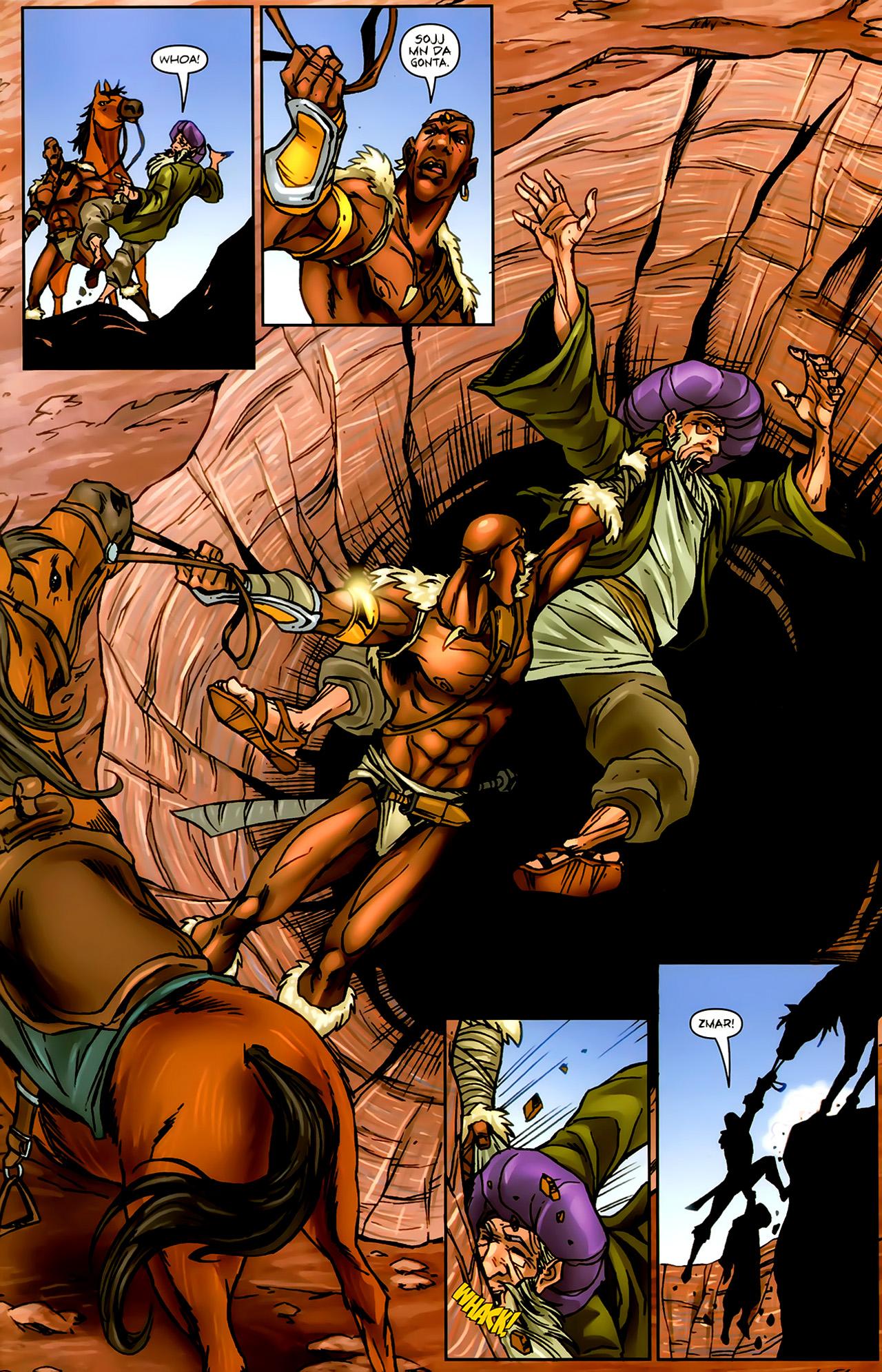 Read online 1001 Arabian Nights: The Adventures of Sinbad comic -  Issue #9 - 23