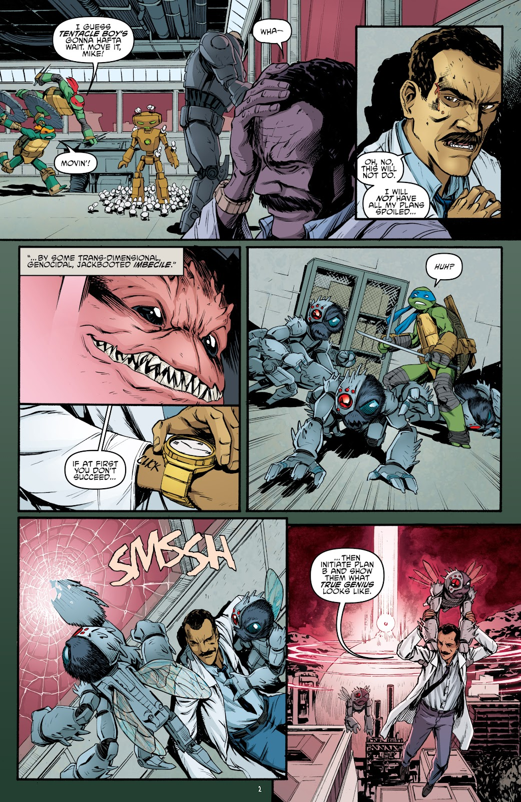 Read online Teenage Mutant Ninja Turtles: The IDW Collection comic -  Issue # TPB 5 (Part 4) - 34