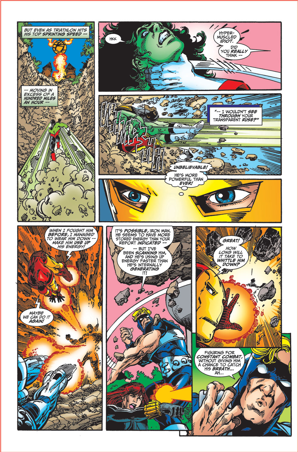 Read online Avengers (1998) comic -  Issue #34 - 13
