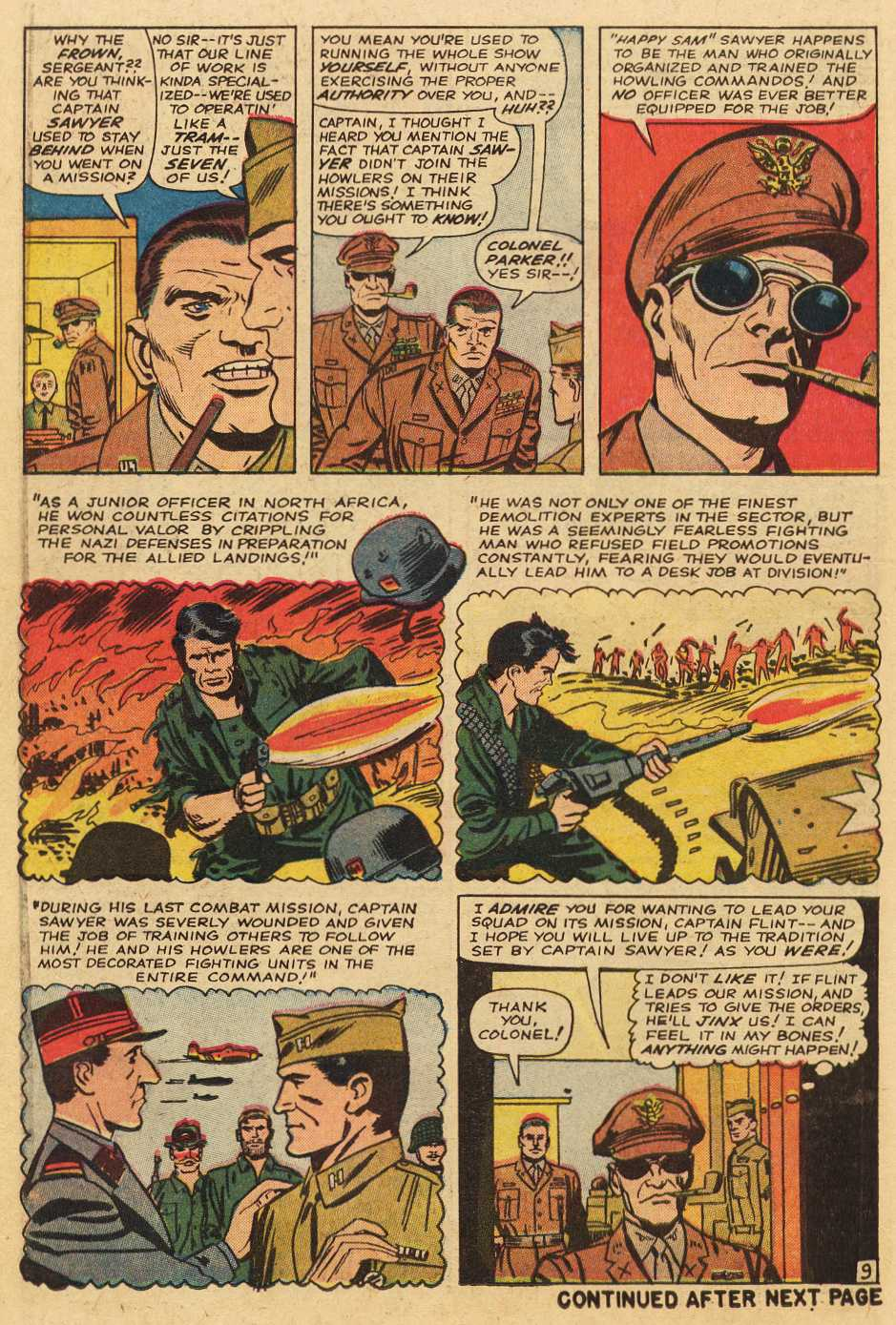 Read online Sgt. Fury comic -  Issue # _Special 2 - 50