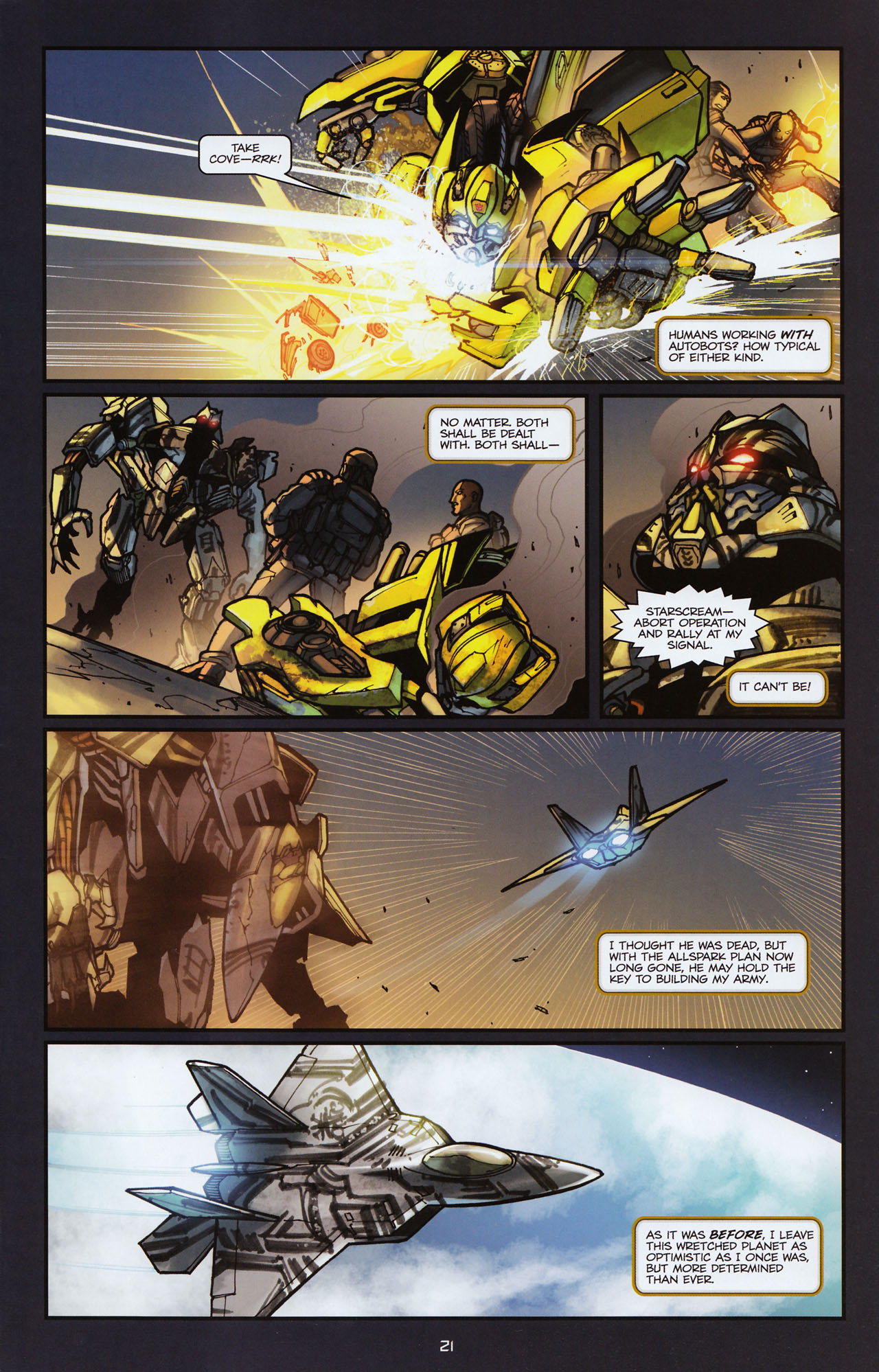 Read online Transformers: Alliance comic -  Issue #2 - 24