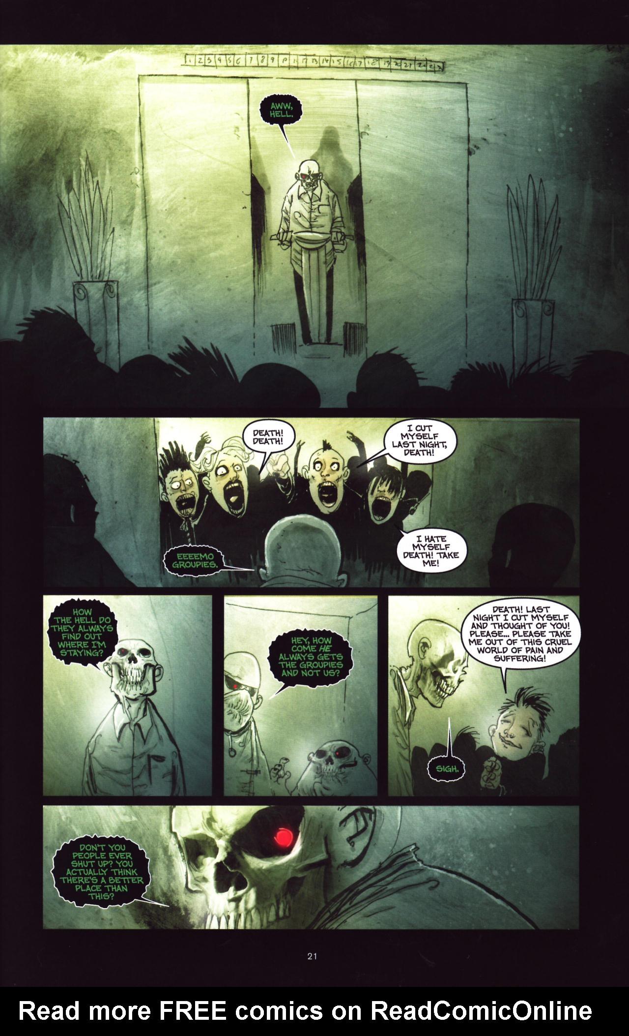 Read online Wormwood: Gentleman Corpse comic -  Issue #8 - 22
