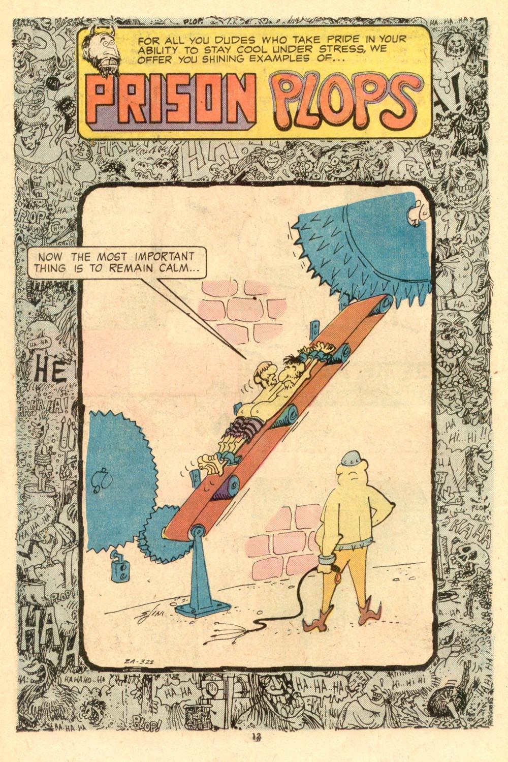 Read online Plop! comic -  Issue #10 - 14