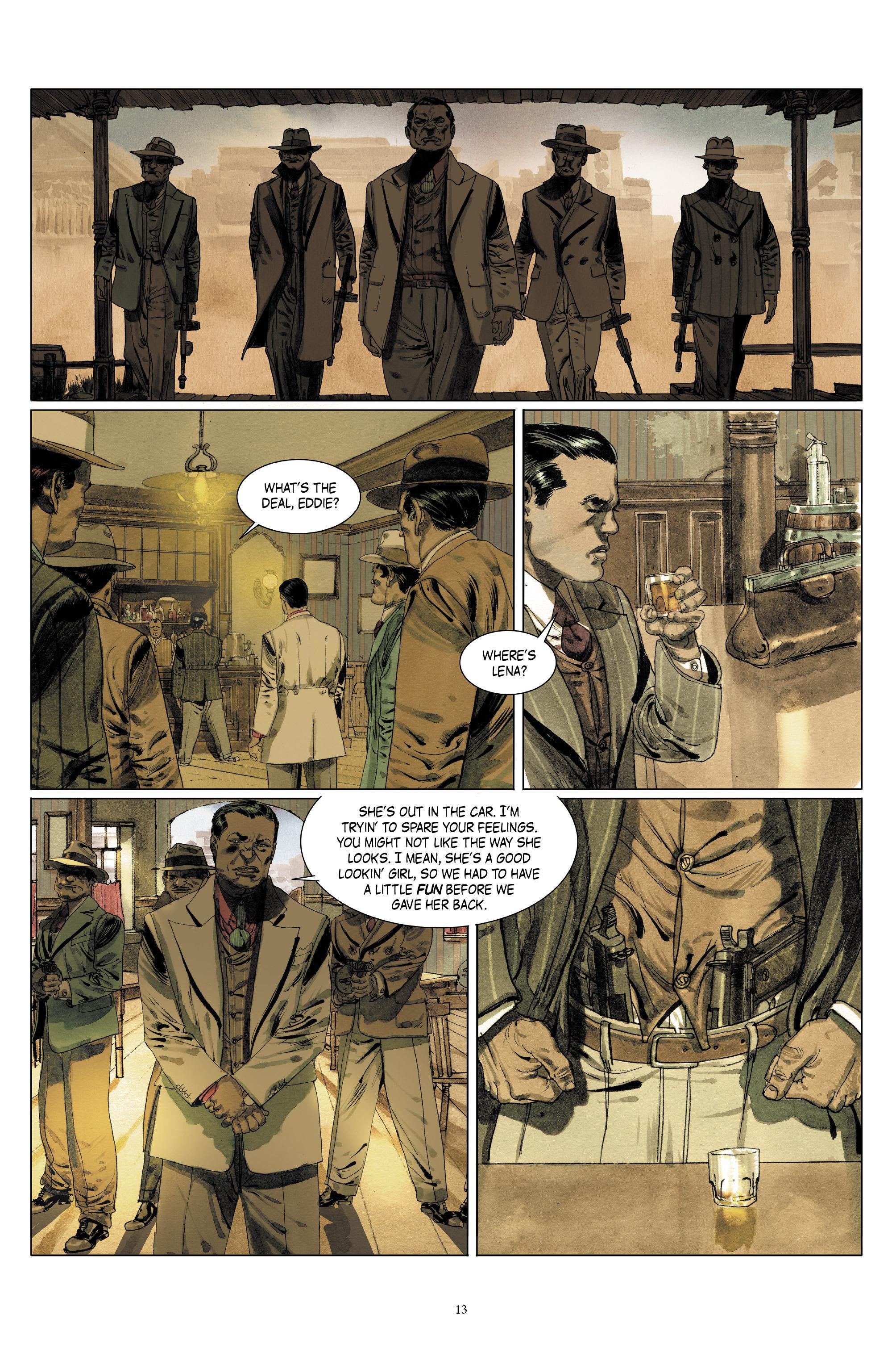 Read online Triggerman comic -  Issue #5 - 13