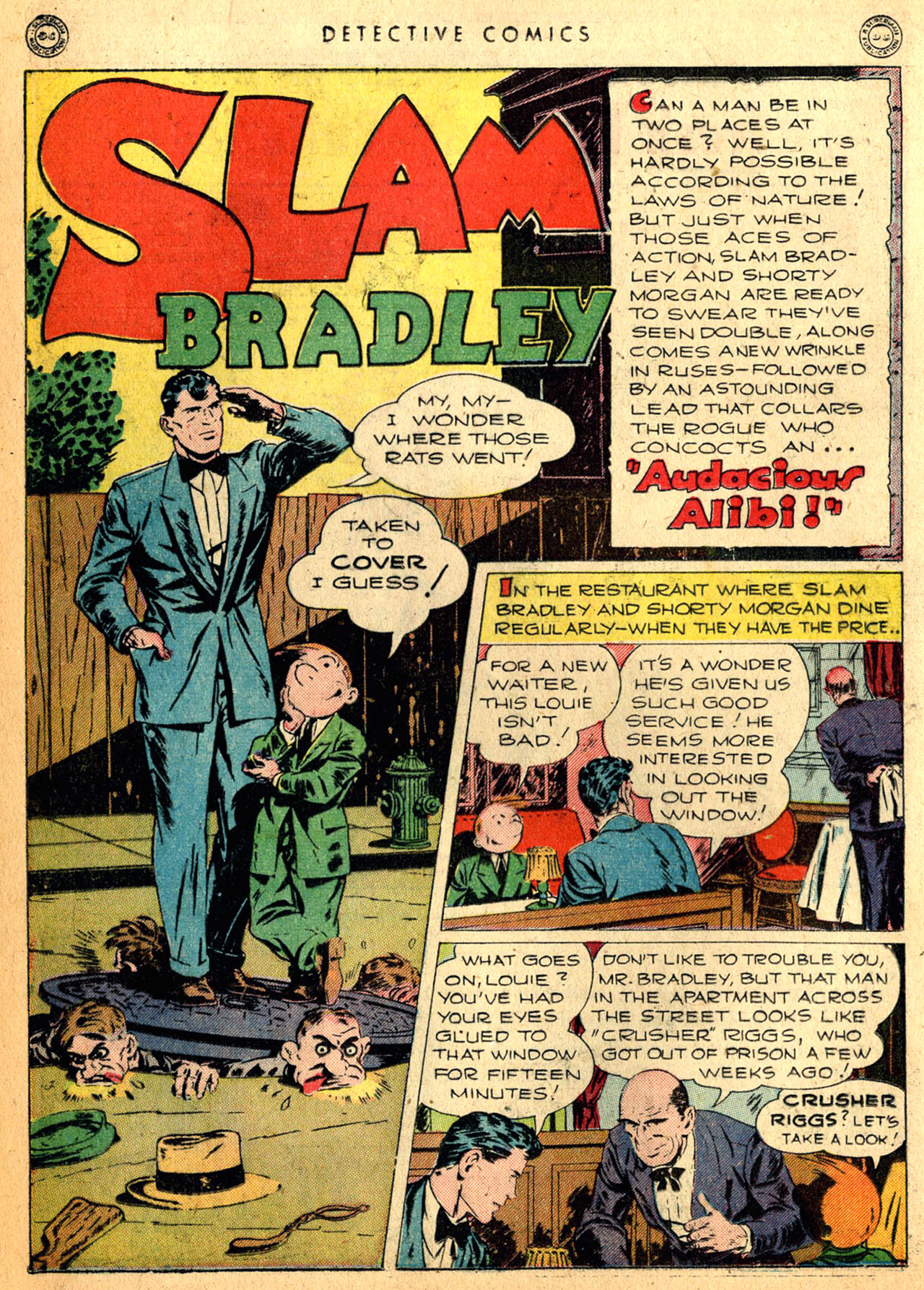 Read online Detective Comics (1937) comic -  Issue #98 - 16