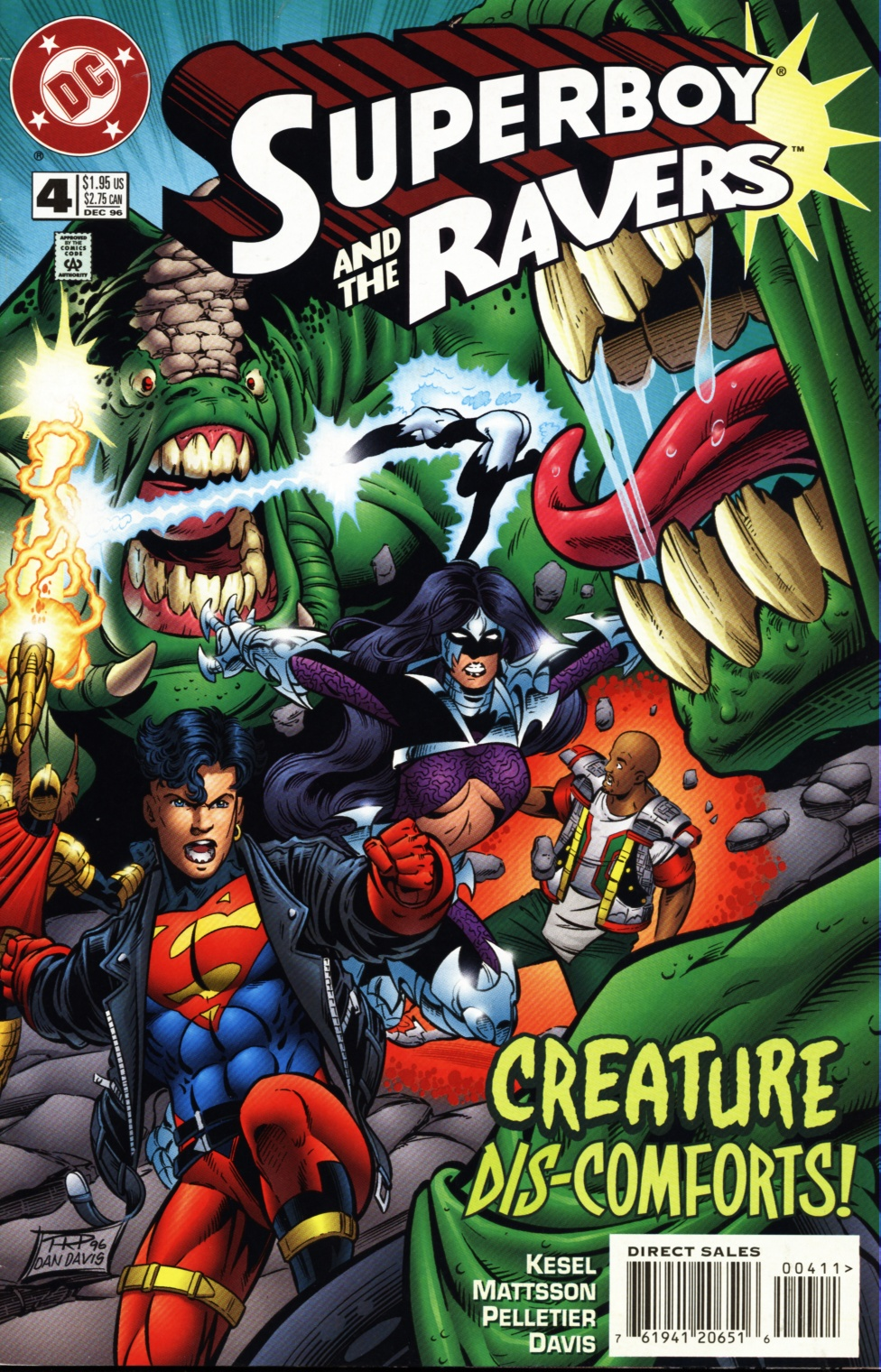 Read online Superboy & The Ravers comic -  Issue #4 - 1