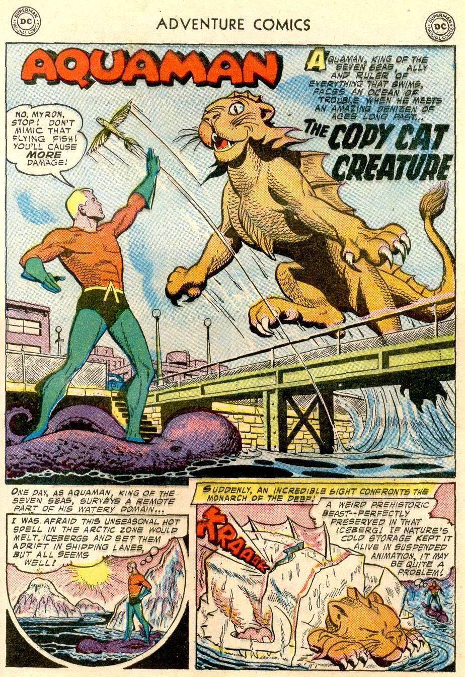 Read online Adventure Comics (1938) comic -  Issue #244 - 27