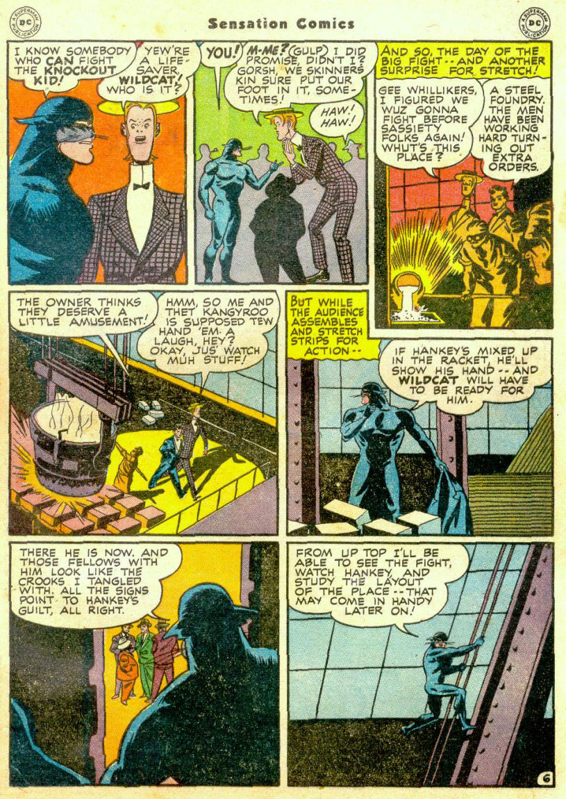 Read online Sensation (Mystery) Comics comic -  Issue #65 - 46
