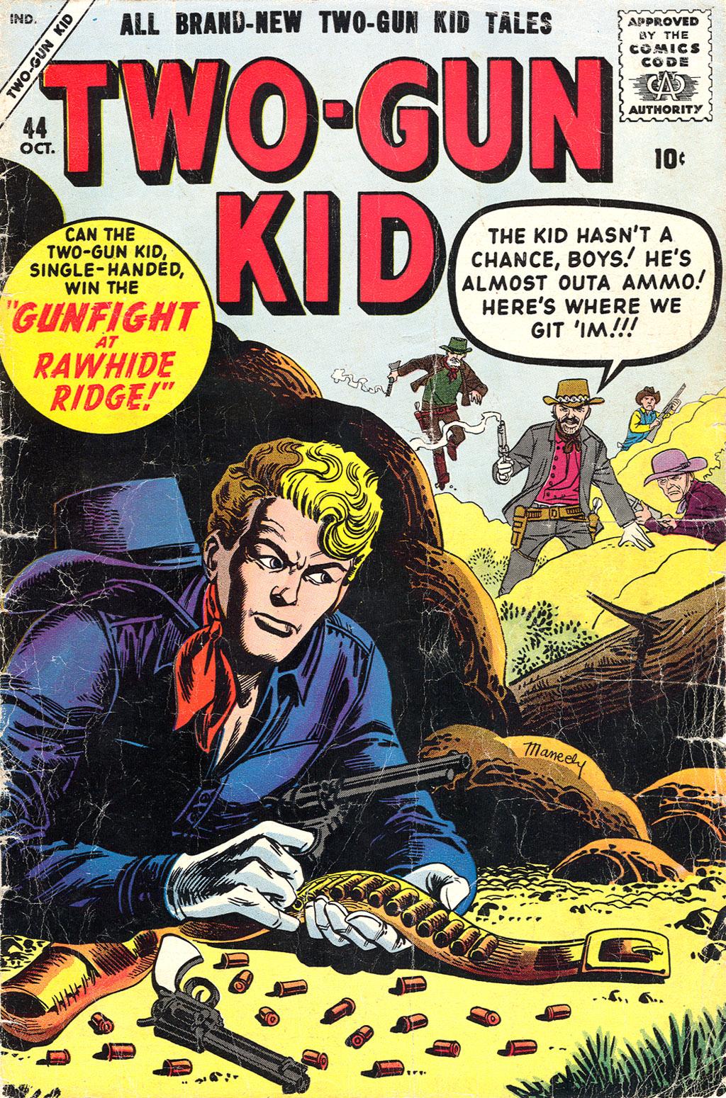 Read online Two-Gun Kid comic -  Issue #44 - 1