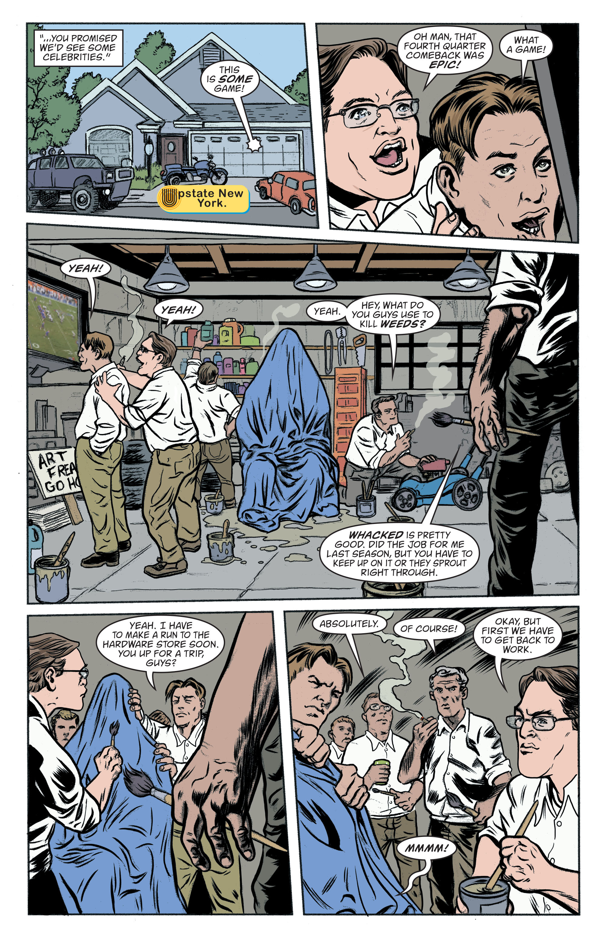 Read online Art Ops comic -  Issue #8 - 11