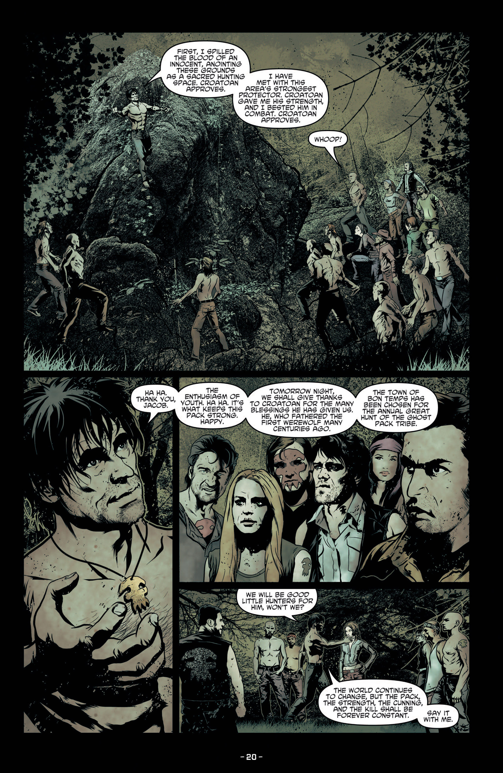Read online True Blood (2012) comic -  Issue #7 - 22