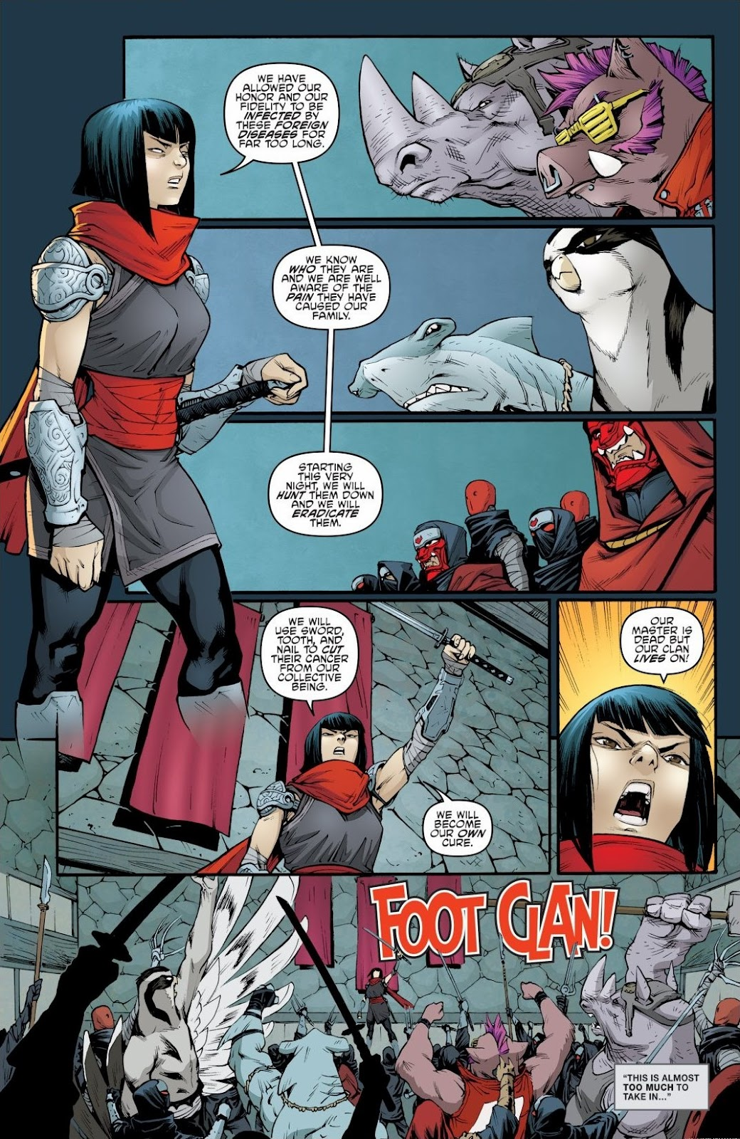 Read online Teenage Mutant Ninja Turtles: The IDW Collection comic -  Issue # TPB 6 (Part 2) - 35