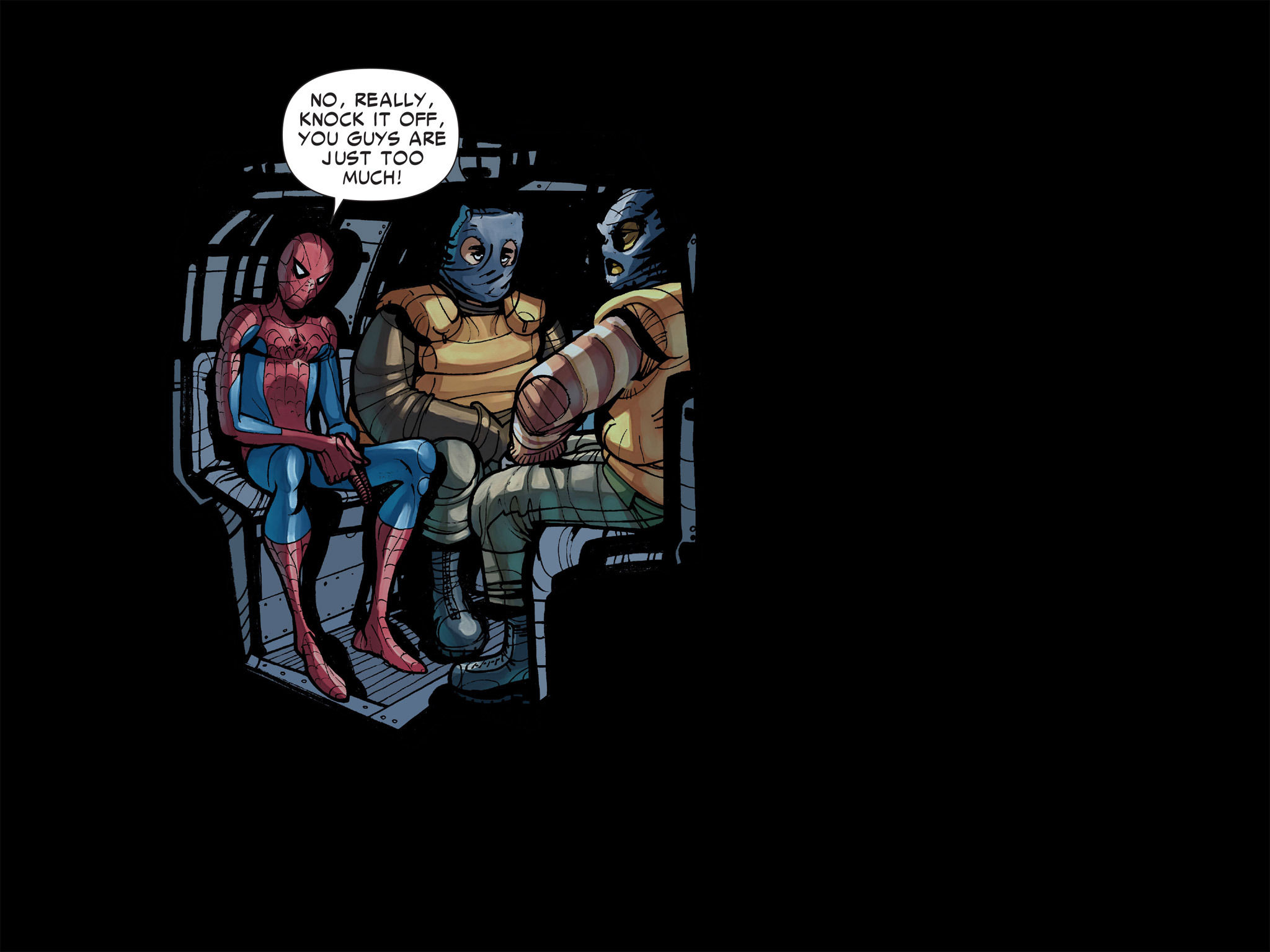 Read online Amazing Spider-Man: Who Am I? comic -  Issue # Full (Part 1) - 116