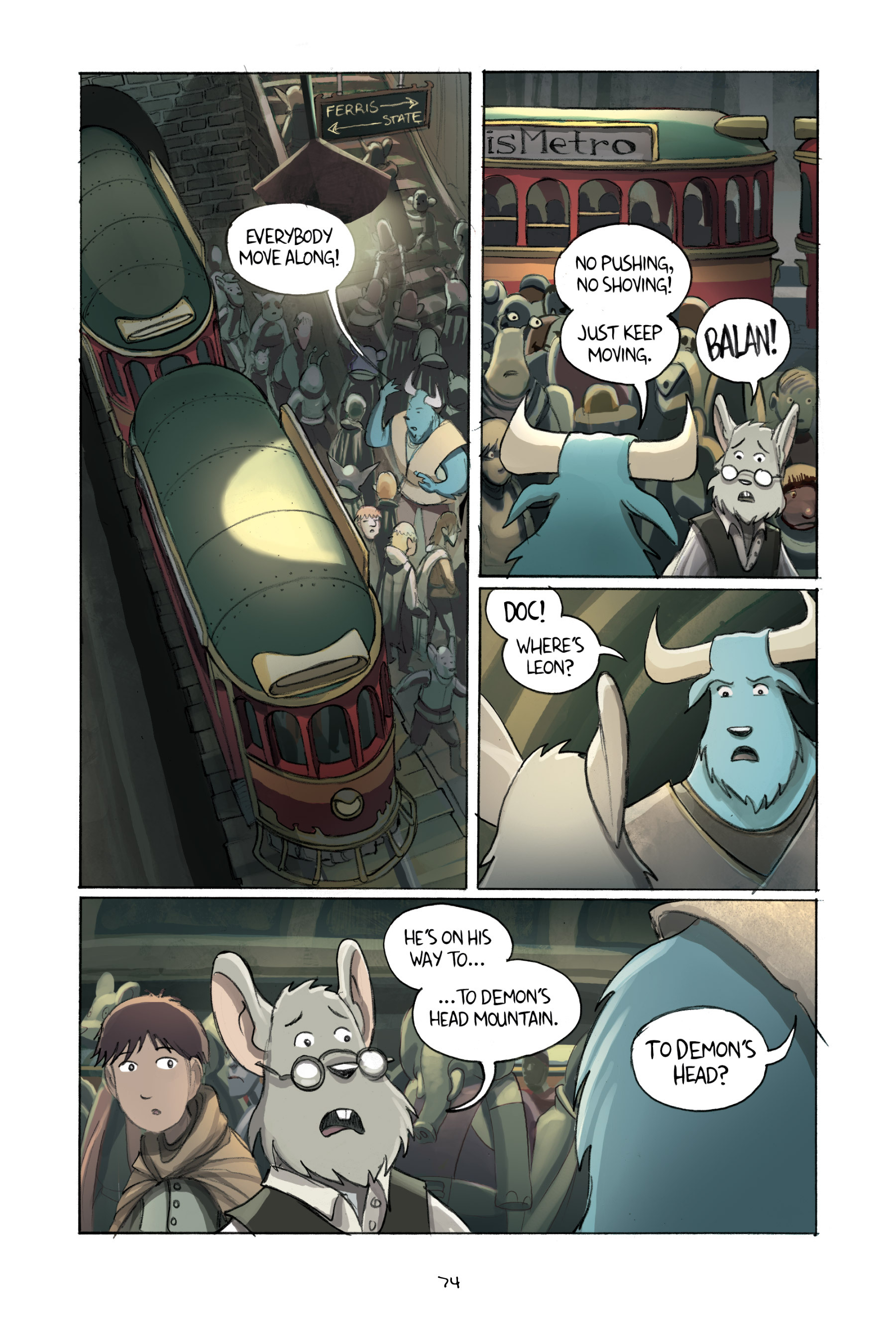 Read online Amulet comic -  Issue #2 - 75