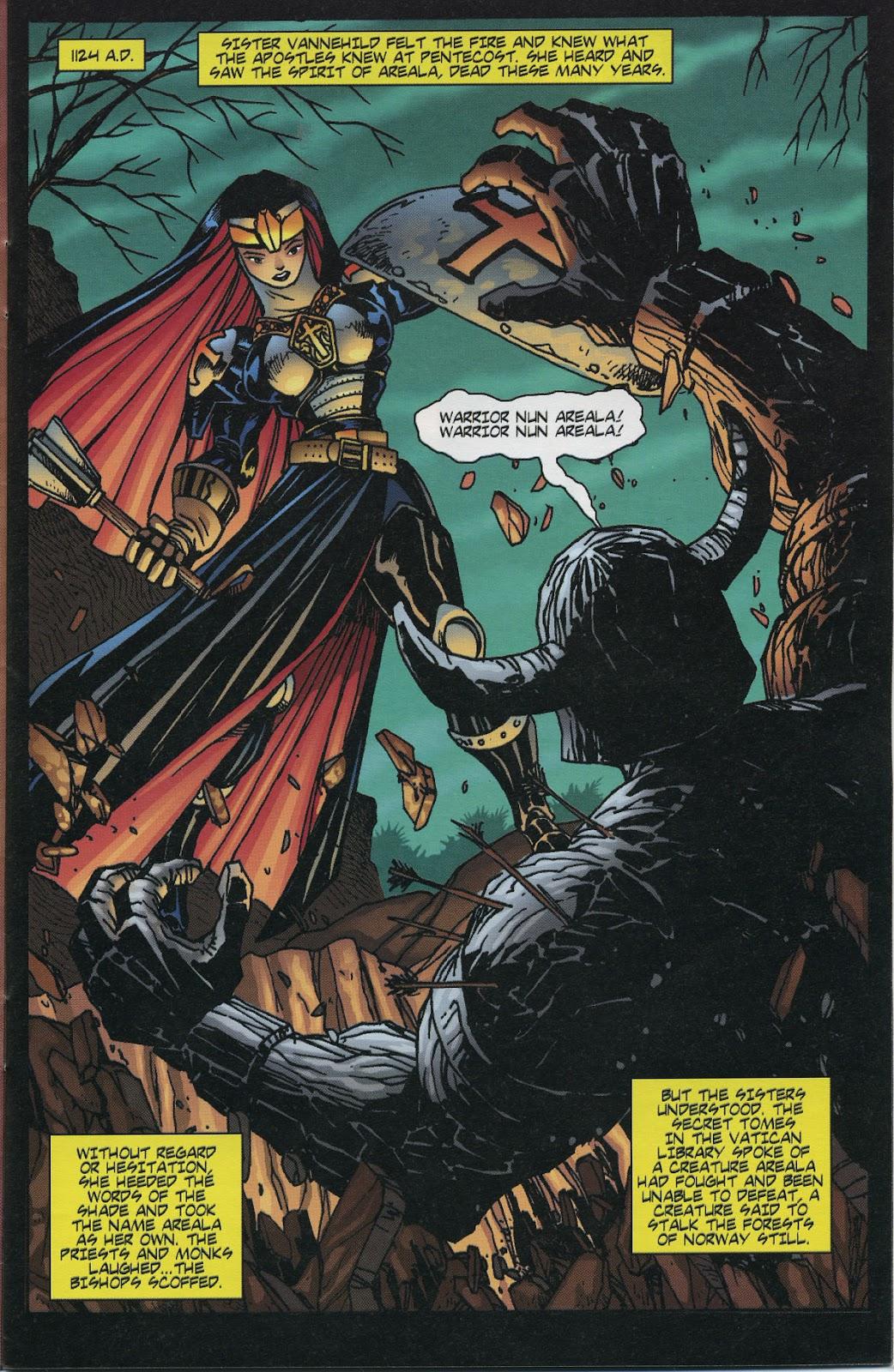 Warrior Nun Areala (1997) Issue #6 #6 - English 9
