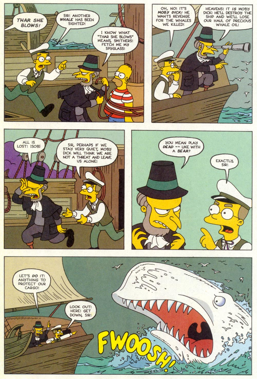 Read online Treehouse of Horror comic -  Issue #1 - 25