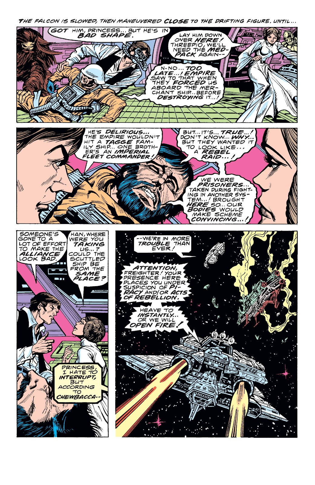 Read online Star Wars Legends: The Original Marvel Years - Epic Collection comic -  Issue # TPB 1 (Part 4) - 23