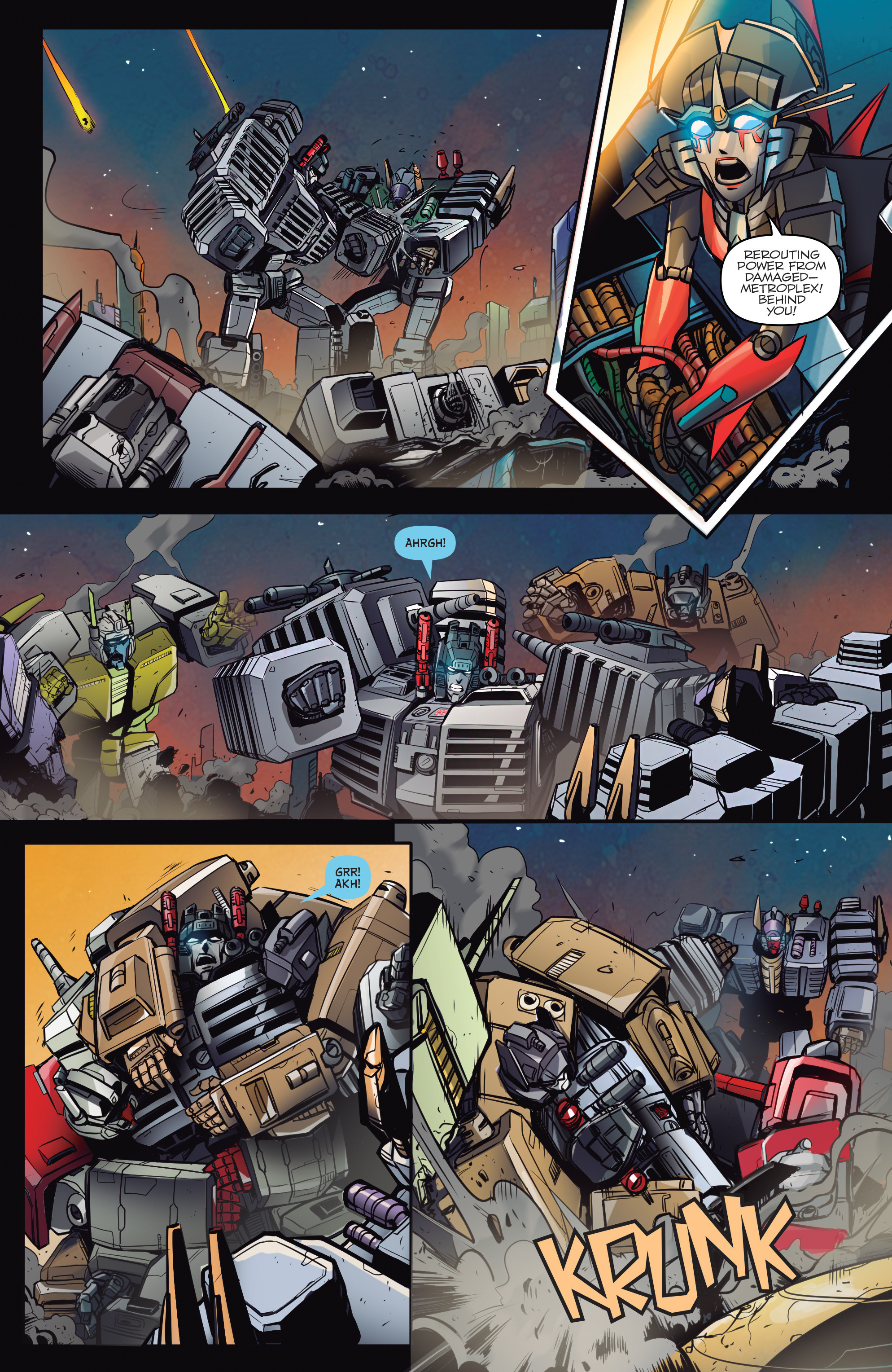 Read online Transformers: Till All Are One comic -  Issue #5 - 23