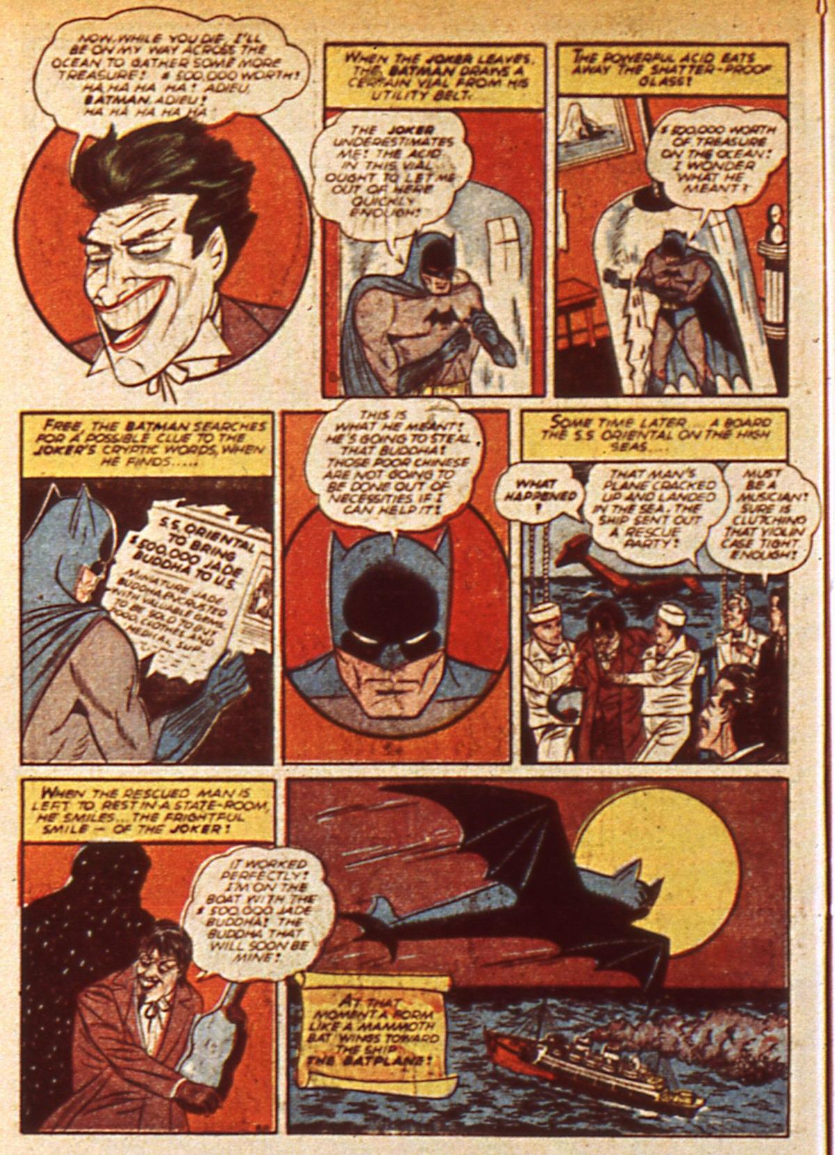 Read online Detective Comics (1937) comic -  Issue #45 - 12