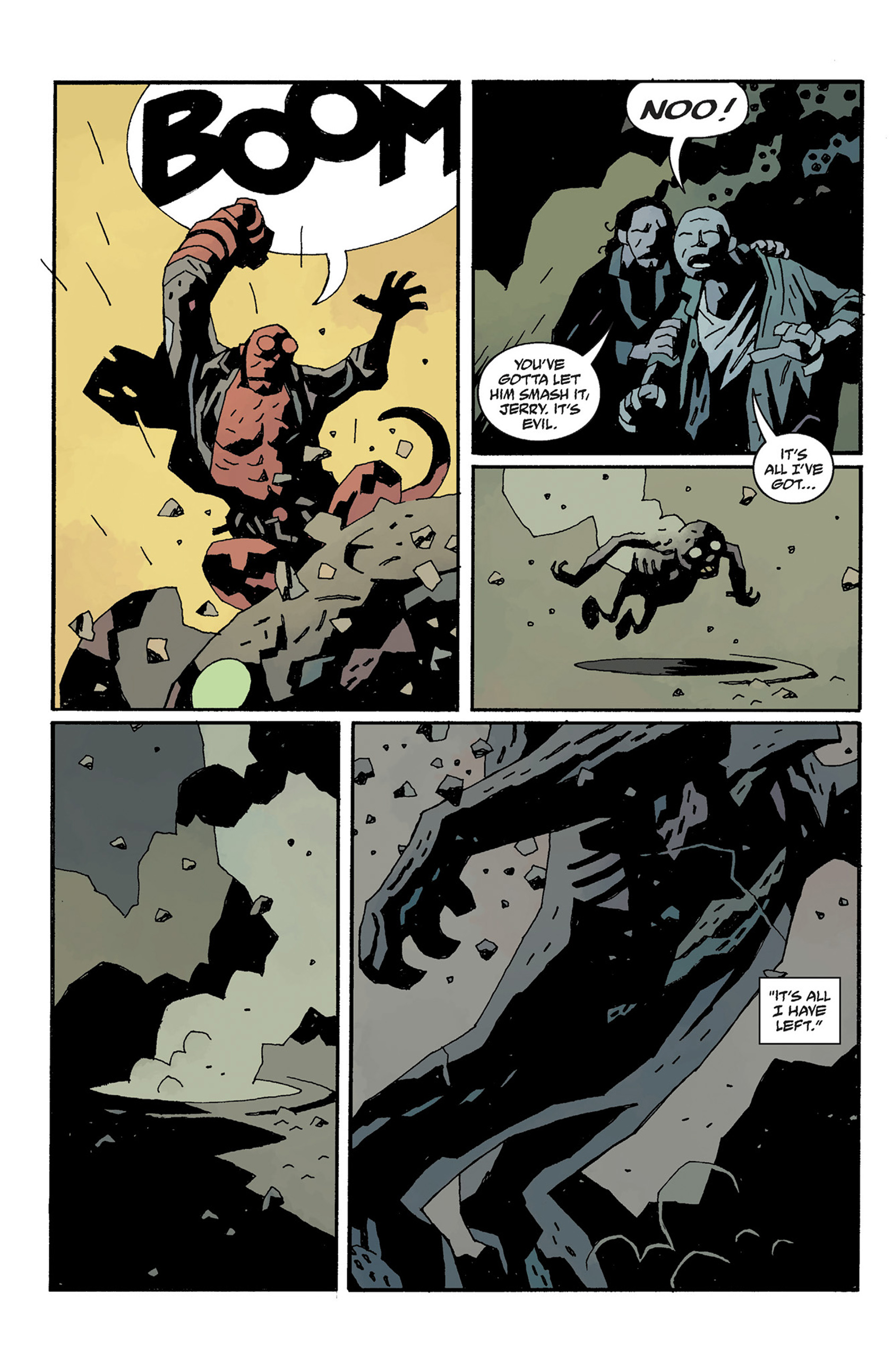 Read online Hellboy: The Crooked Man and Others comic -  Issue # TPB - 130
