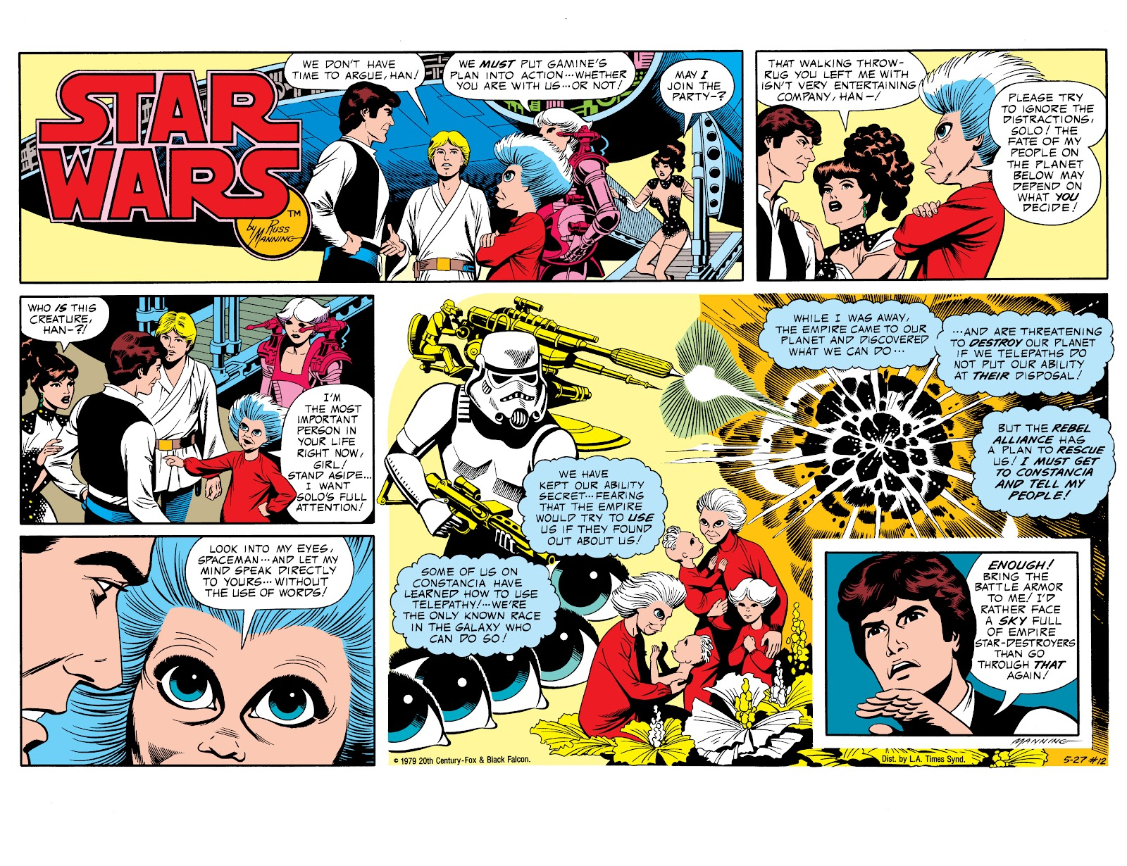Read online Star Wars Legends: The Newspaper Strips - Epic Collection comic -  Issue # TPB (Part 1) - 19