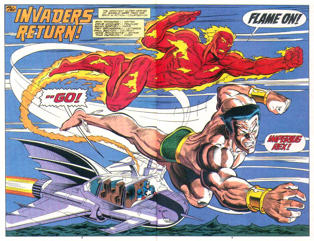 Read online The Invaders (1993) comic -  Issue #1 - 3