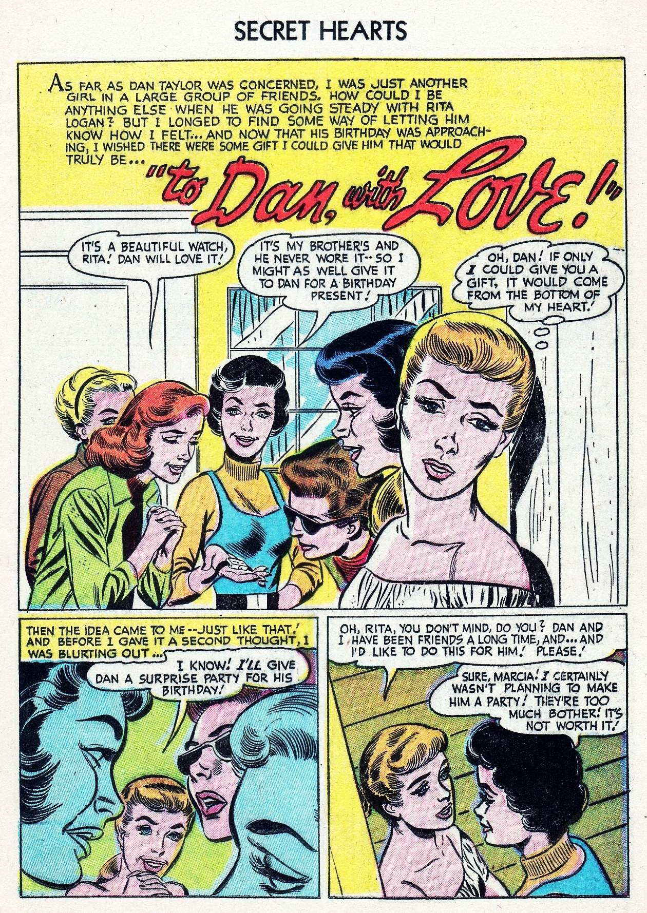 Read online Secret Hearts comic -  Issue #29 - 11