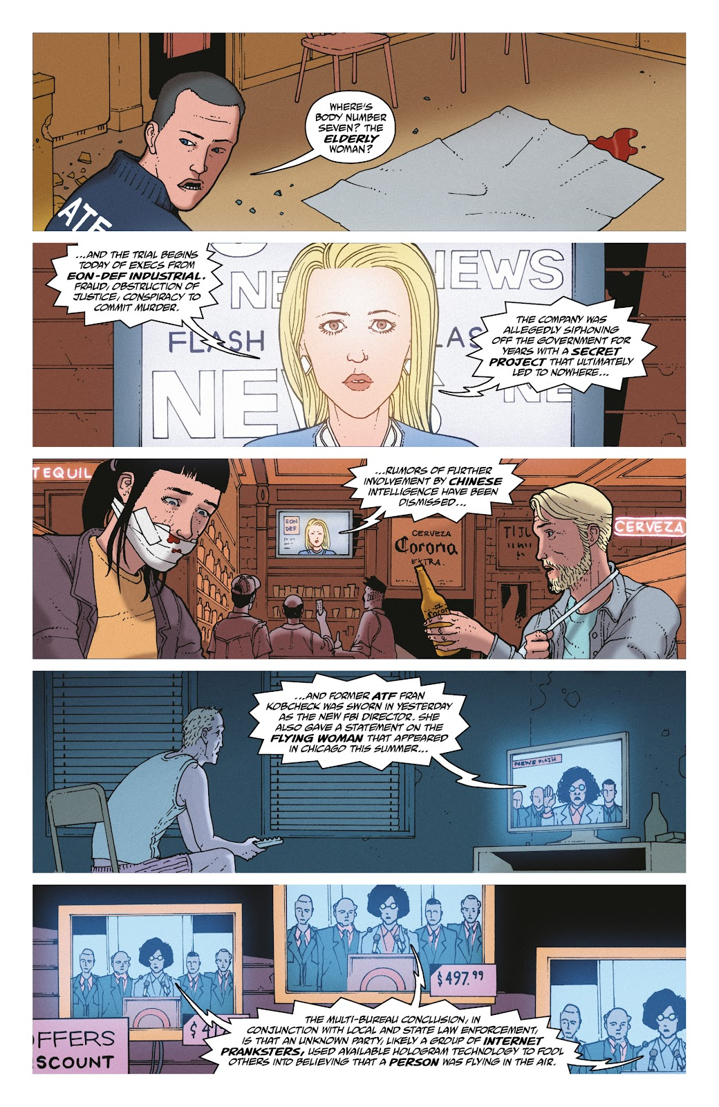 Read online She Could Fly comic -  Issue # _TPB - 138