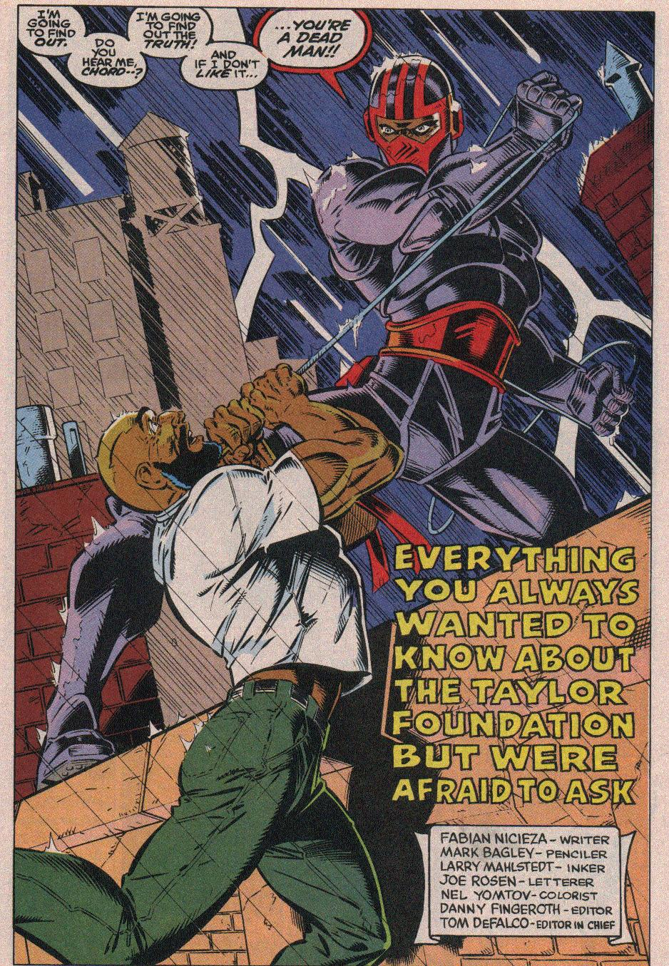 The New Warriors Issue #18 #22 - English 4