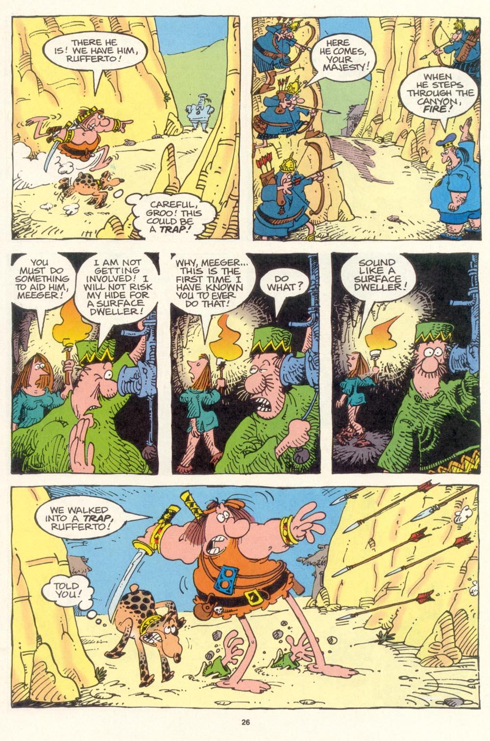 Read online Sergio Aragonés Groo the Wanderer comic -  Issue #119 - 27