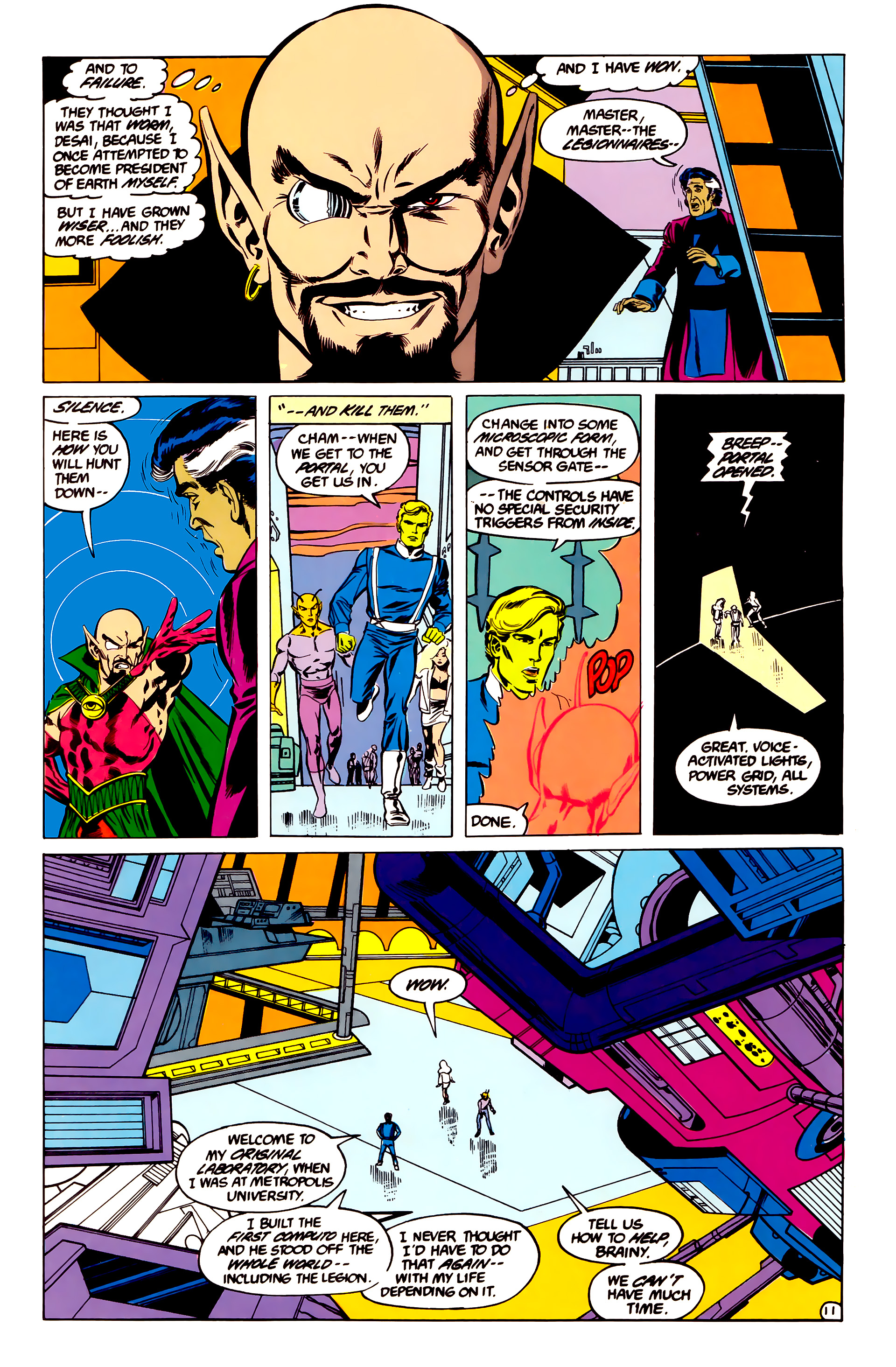 Legion of Super-Heroes (1984) 35 Page 11