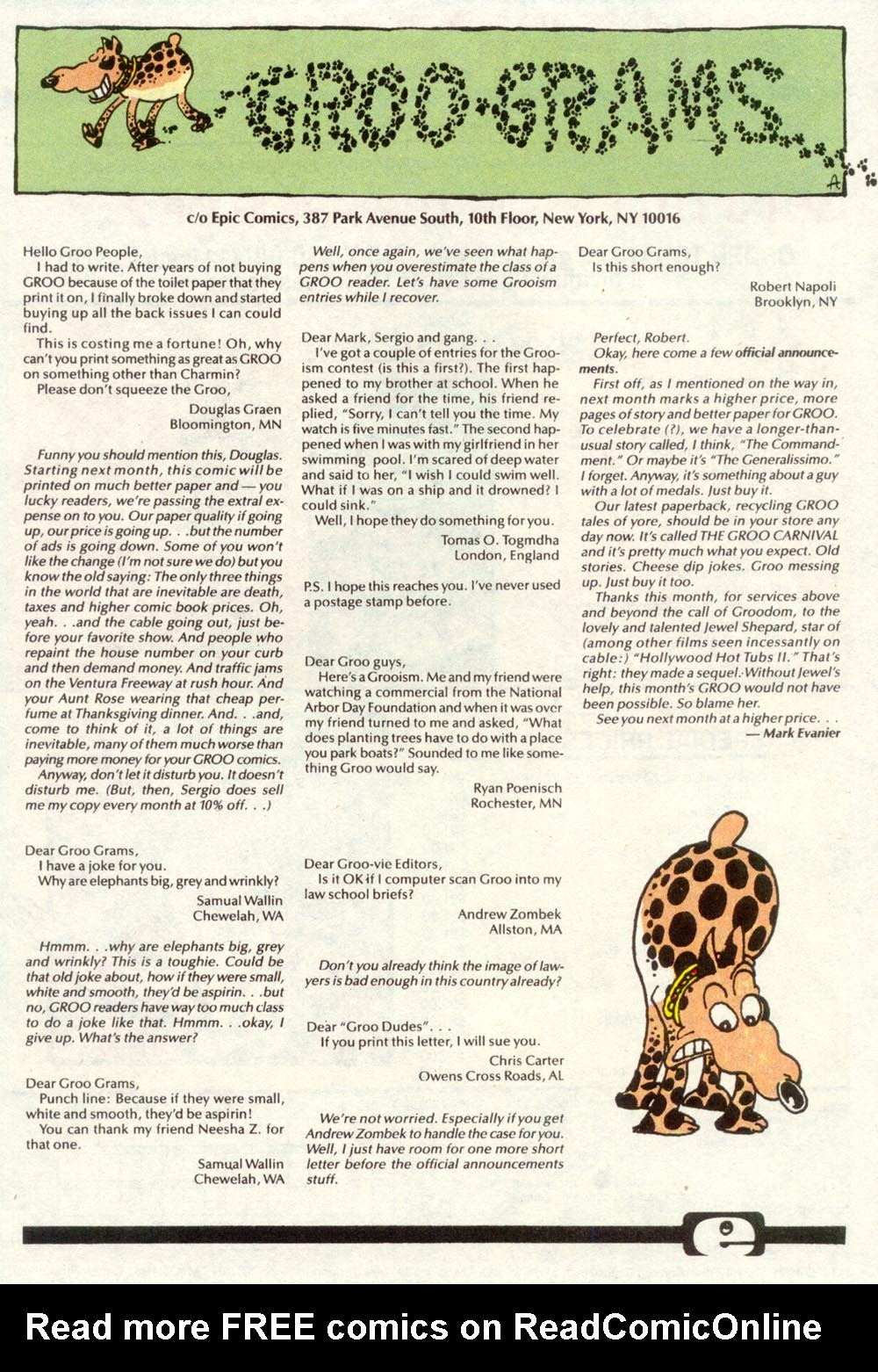 Read online Sergio Aragonés Groo the Wanderer comic -  Issue #86 - 25