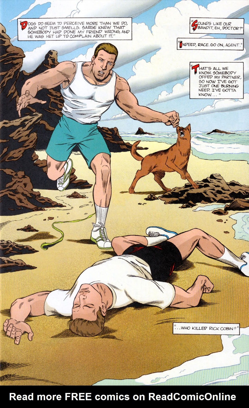 Read online The Real Adventures of Jonny Quest comic -  Issue #10 - 11
