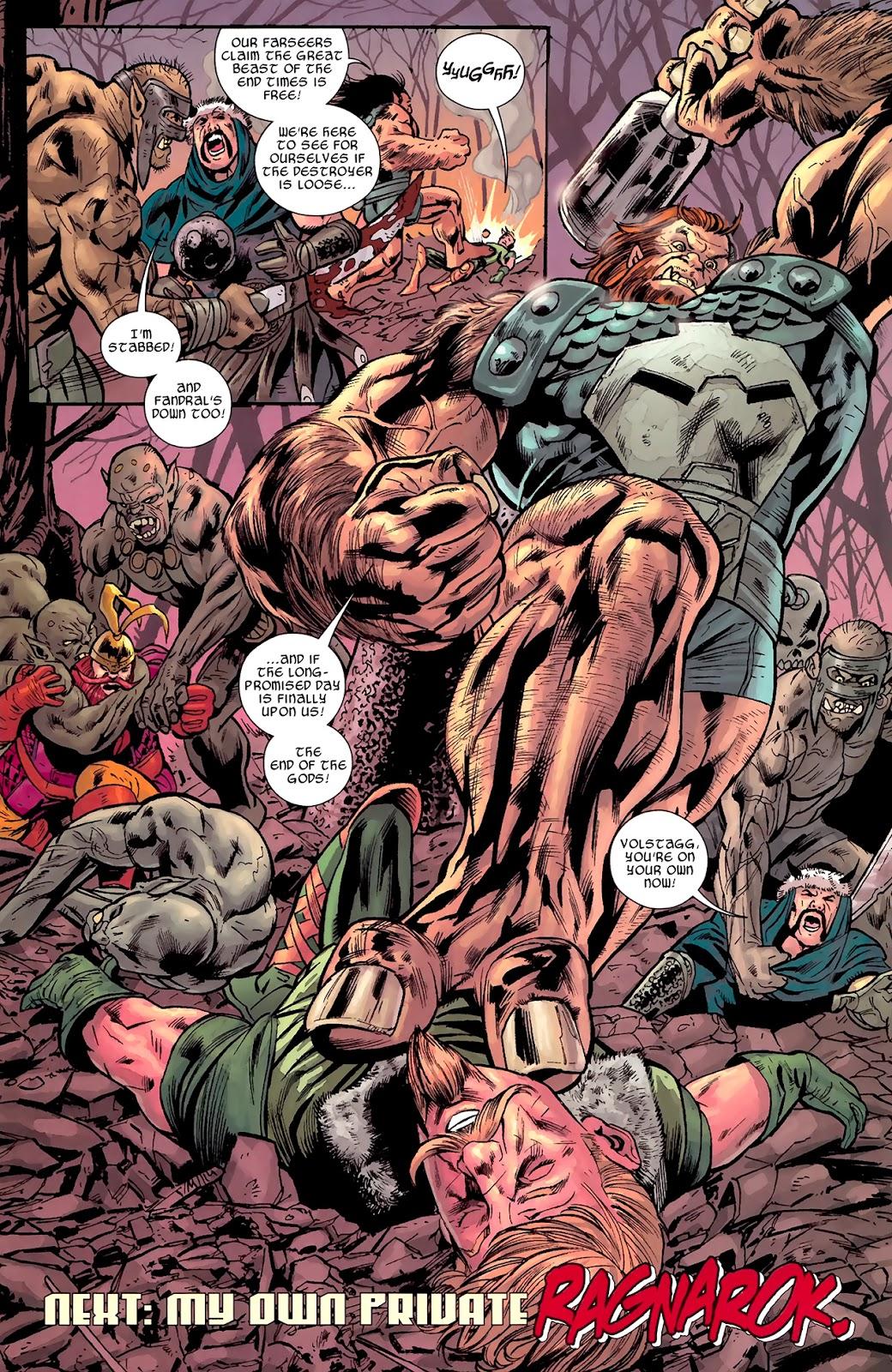 Warriors Three Issue #1 #1 - English 22