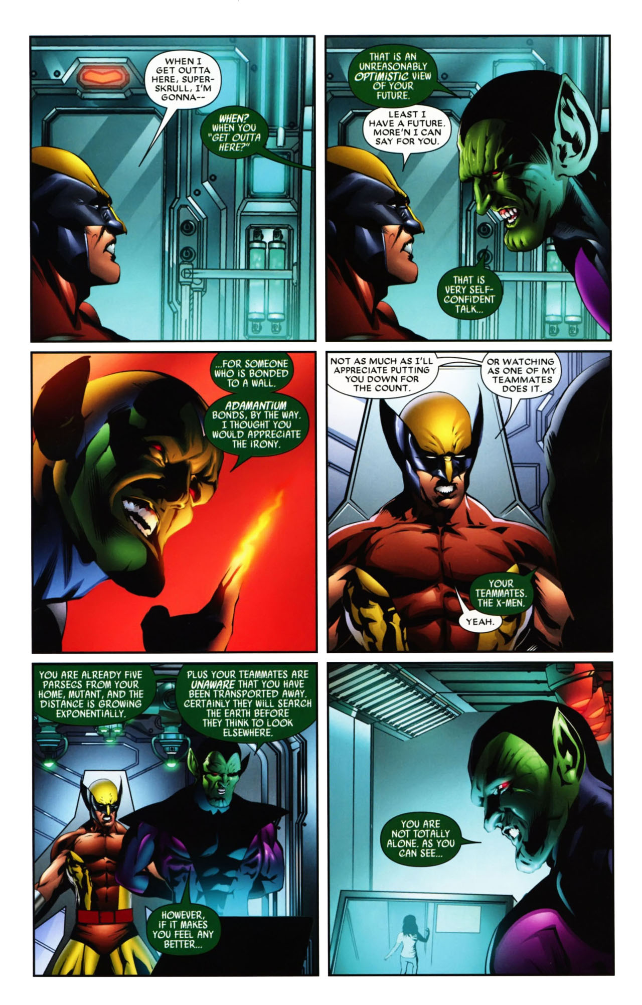 Read online Wolverine: First Class comic -  Issue #19 - 11