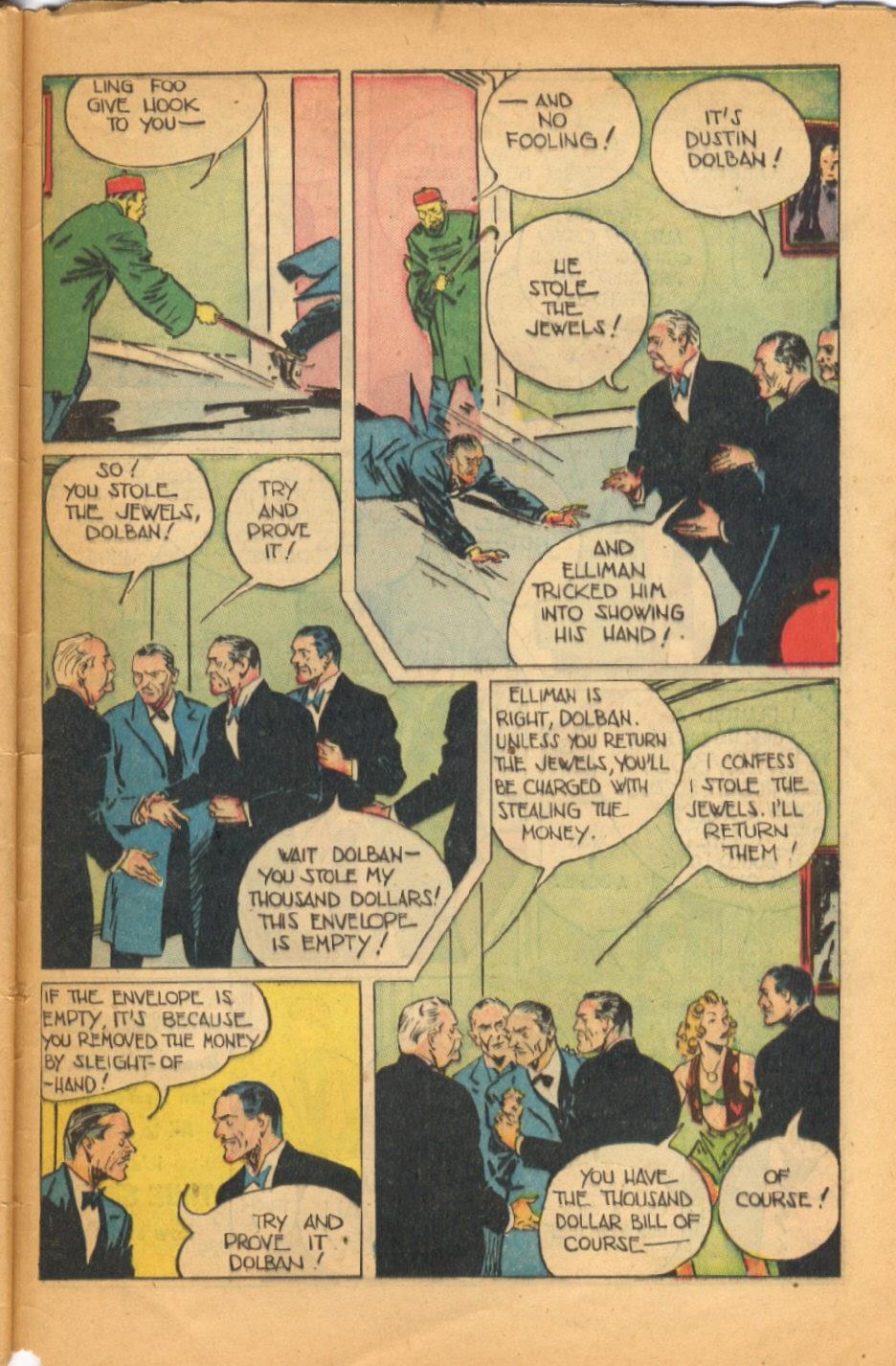 Read online Super-Magician Comics comic -  Issue #52 - 46