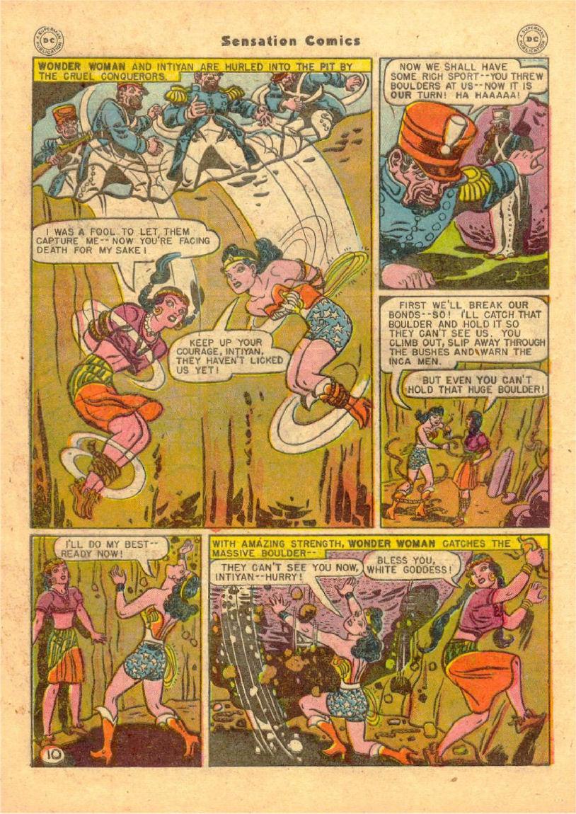 Read online Sensation (Mystery) Comics comic -  Issue #70 - 11