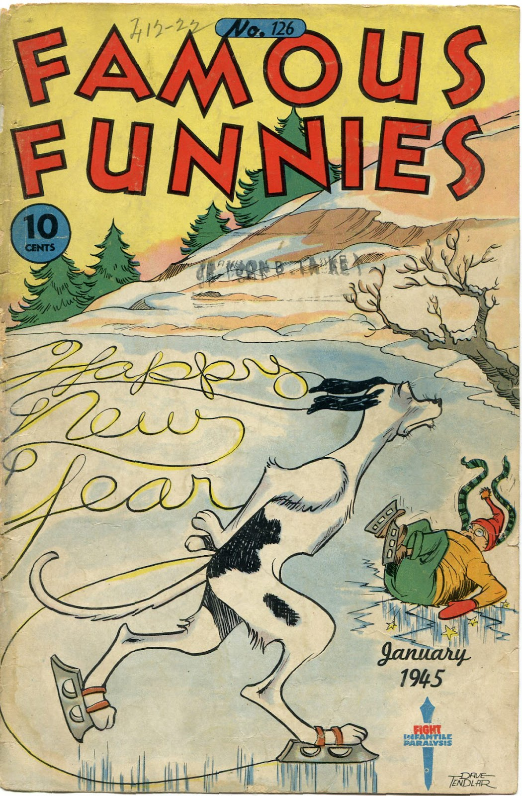 Read online Famous Funnies comic -  Issue #126 - 1