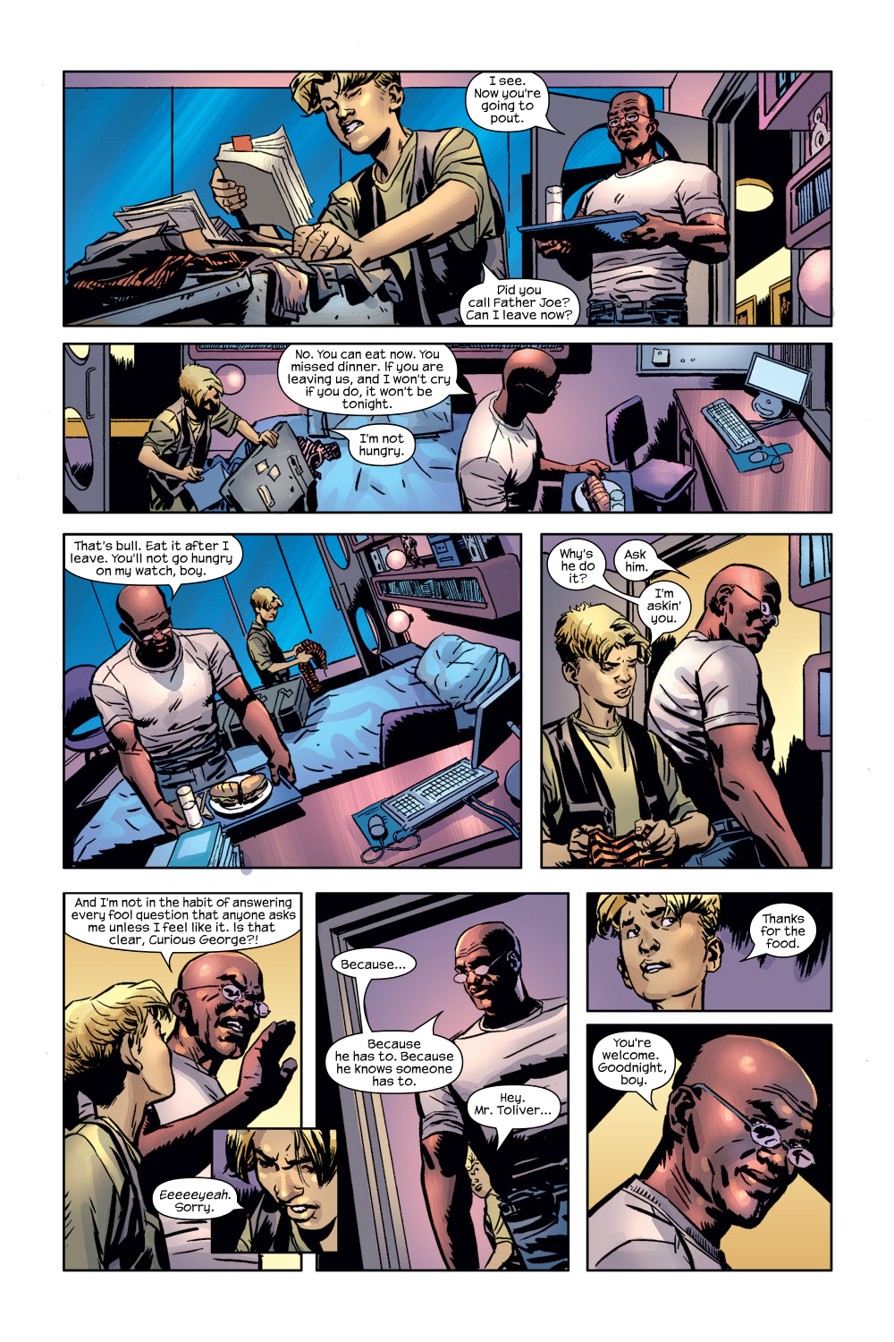 Read online Ultimate Adventures comic -  Issue #3 - 14