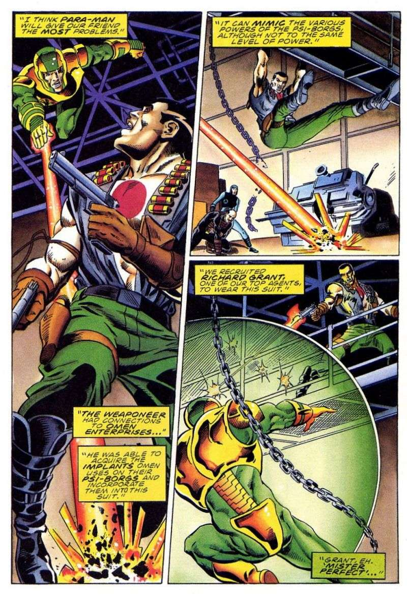 Read online Secret Weapons comic -  Issue #11 - 18