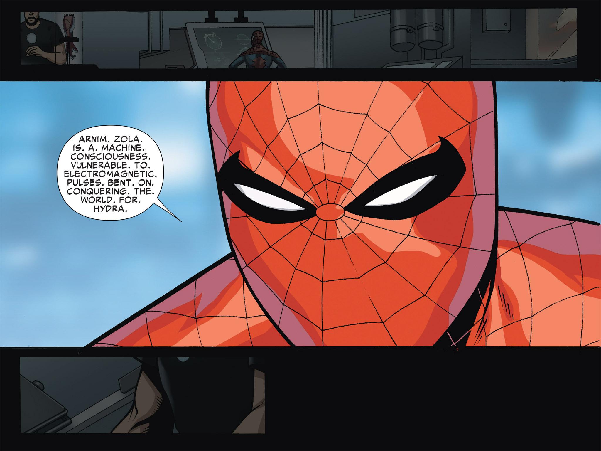 Read online Ultimate Spider-Man (Infinite Comics) (2016) comic -  Issue #4 - 11