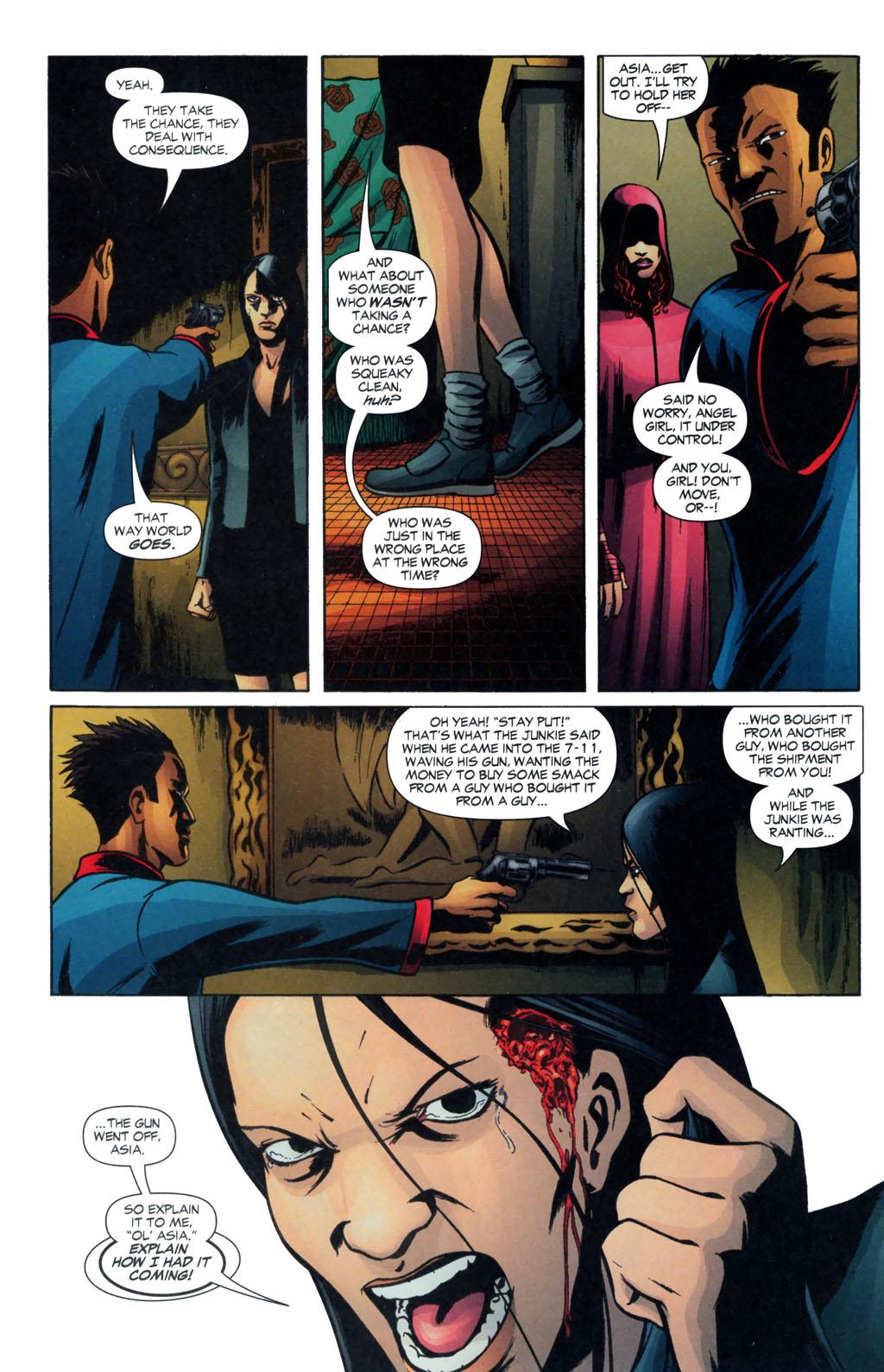 Read online Fallen Angel (2003) comic -  Issue #13 - 19
