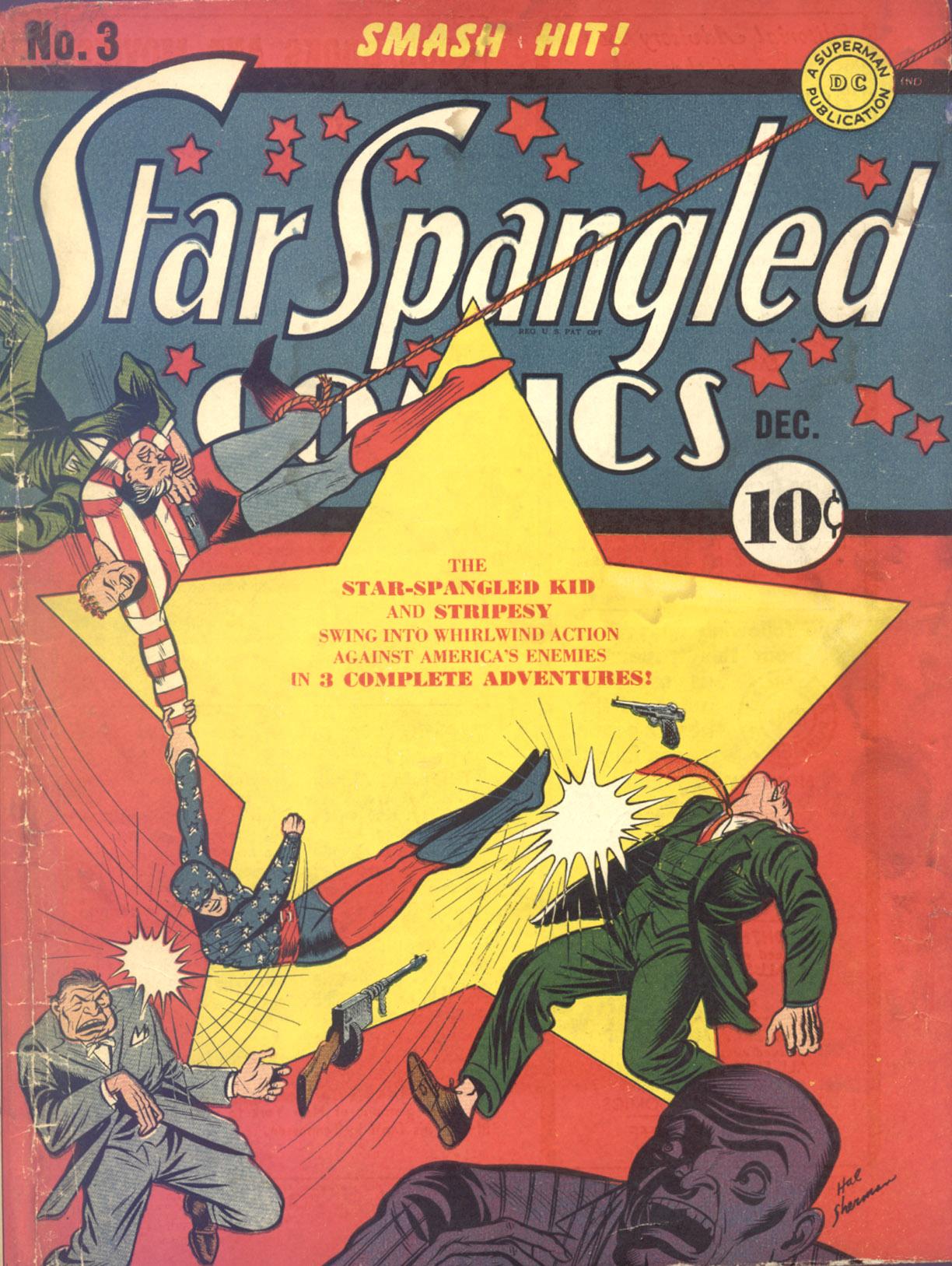 Star Spangled Comics (1941) 3 Page 1