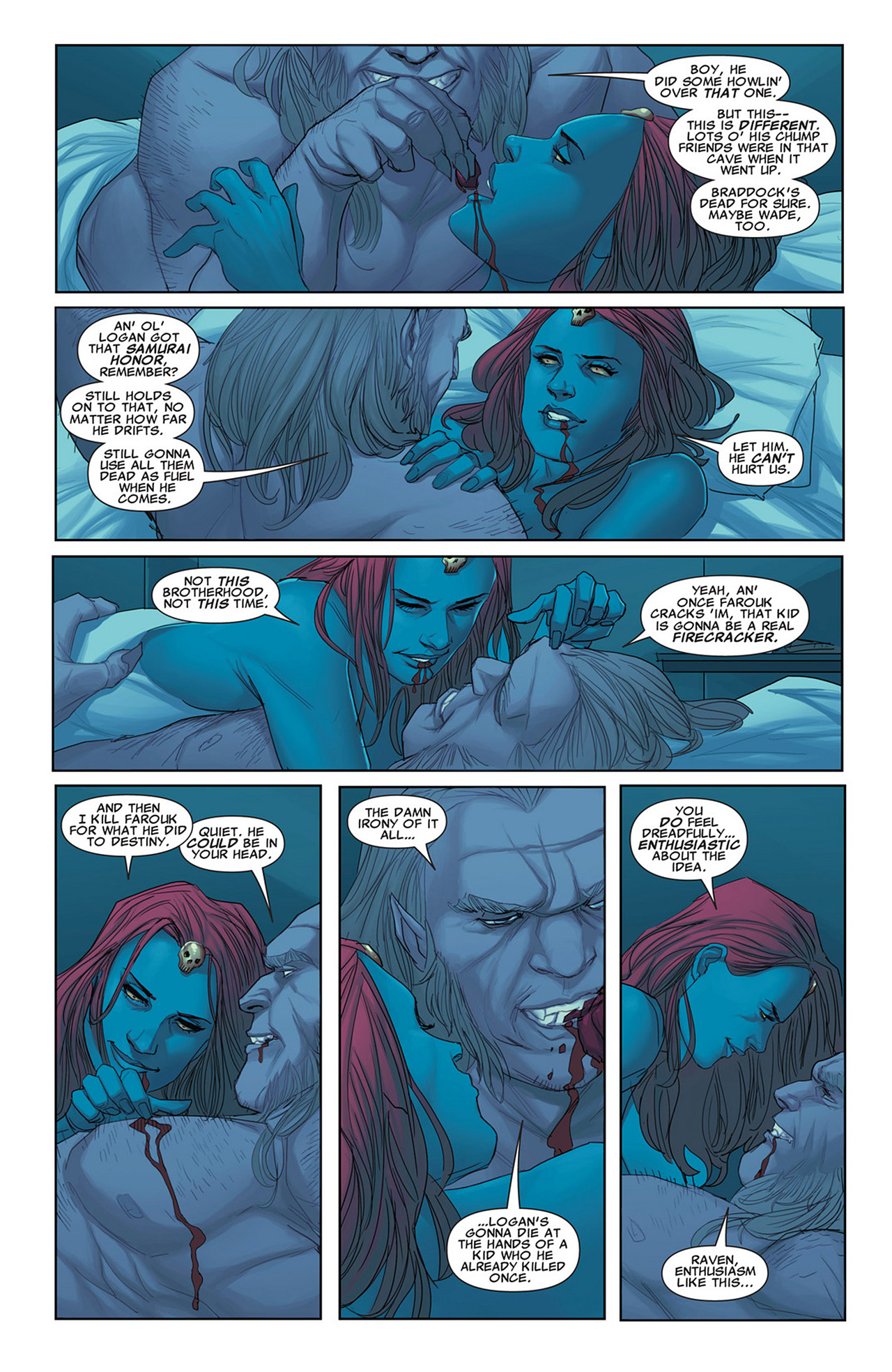 Read online Uncanny X-Force (2010) comic -  Issue #31 - 9