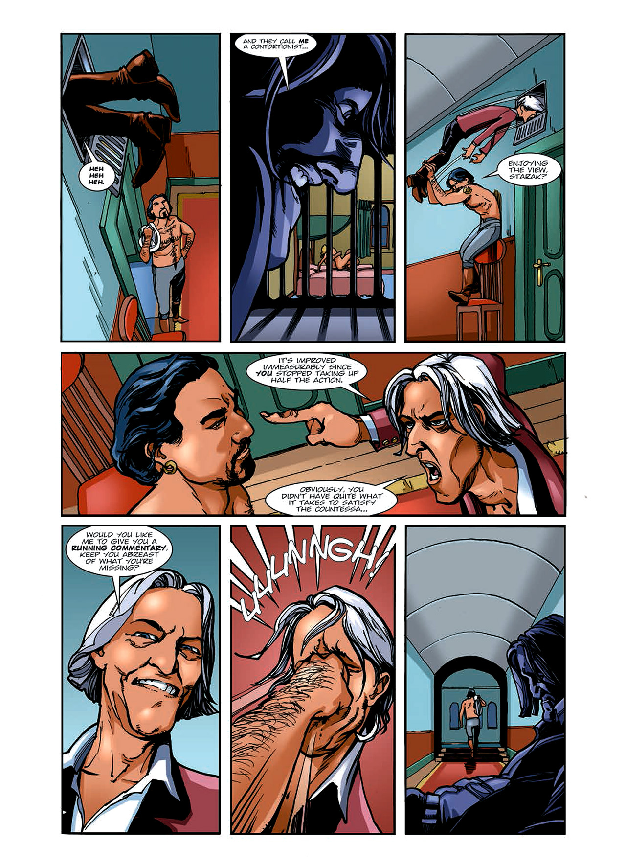 Read online Nikolai Dante comic -  Issue # TPB 6 - 58