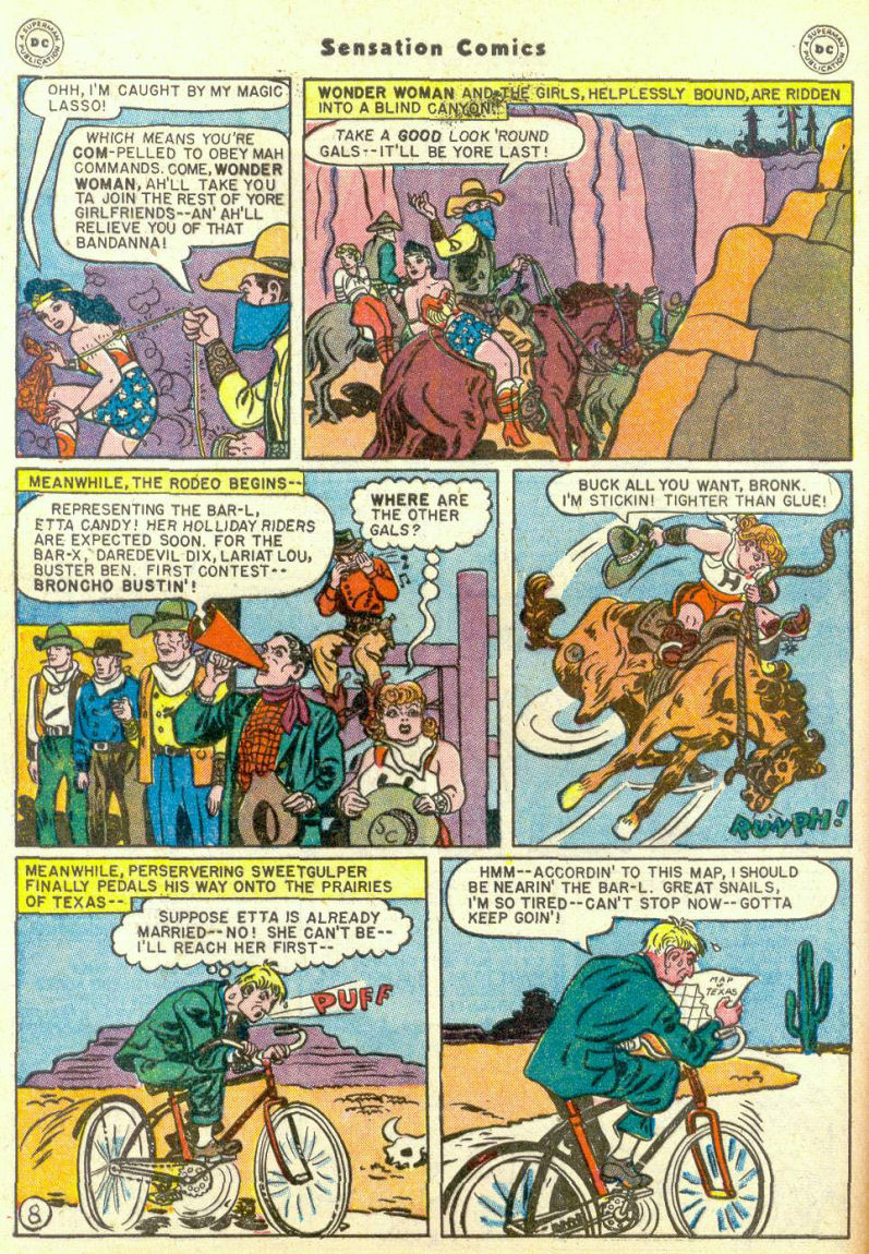 Read online Sensation (Mystery) Comics comic -  Issue #67 - 10