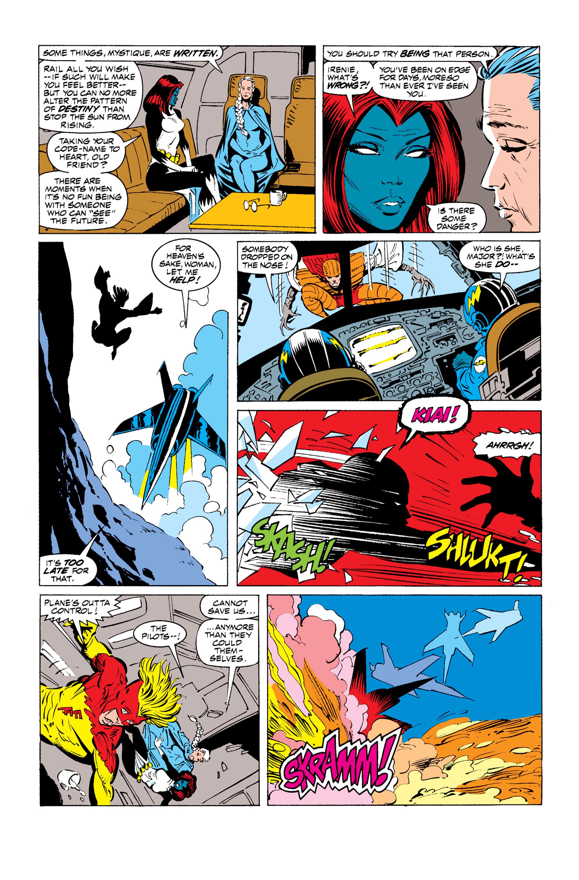 Read online Uncanny X-Men (1963) comic -  Issue #255 - 10