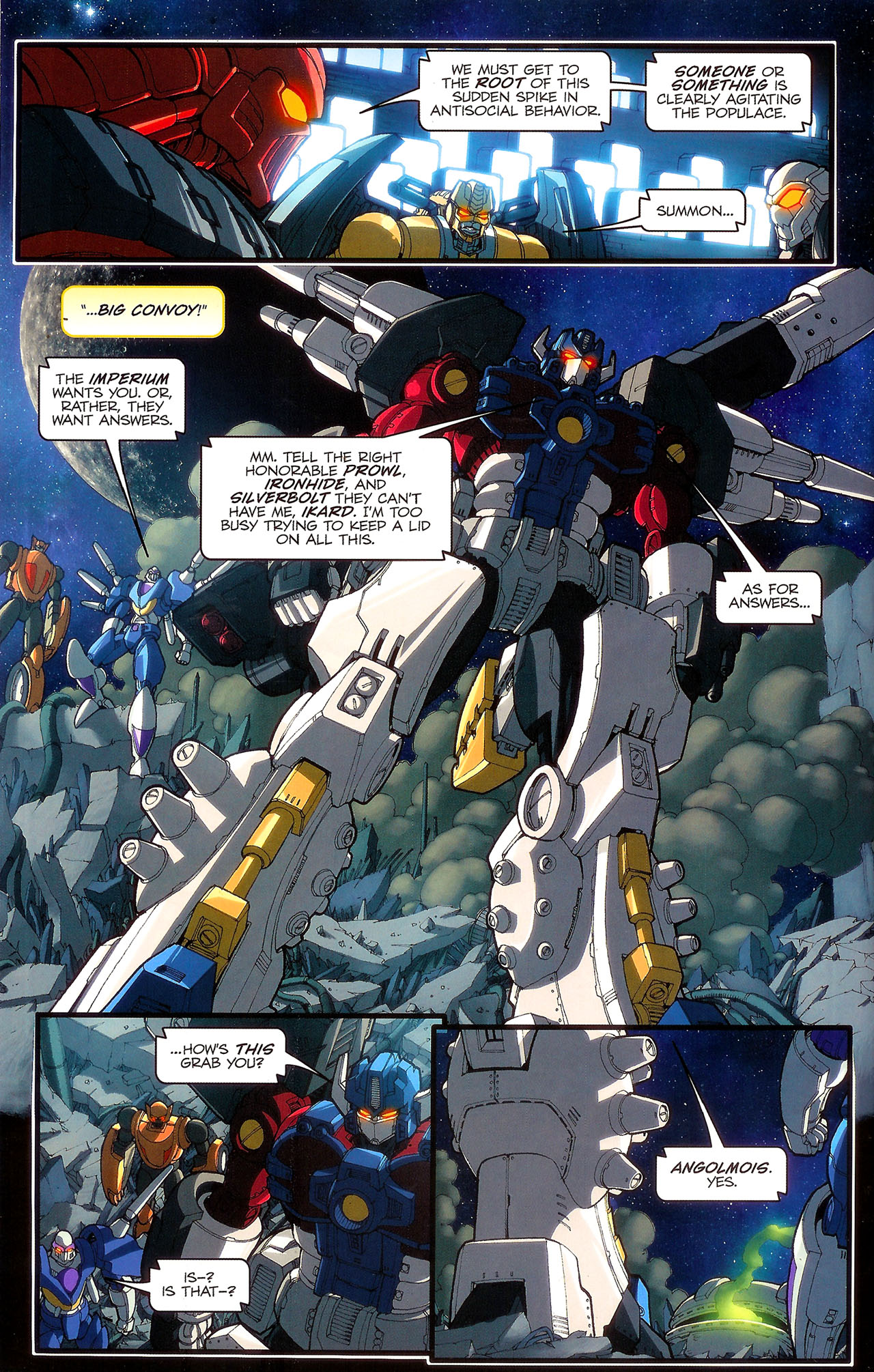 Read online Transformers: Beast Wars: The Ascending comic -  Issue #2 - 13